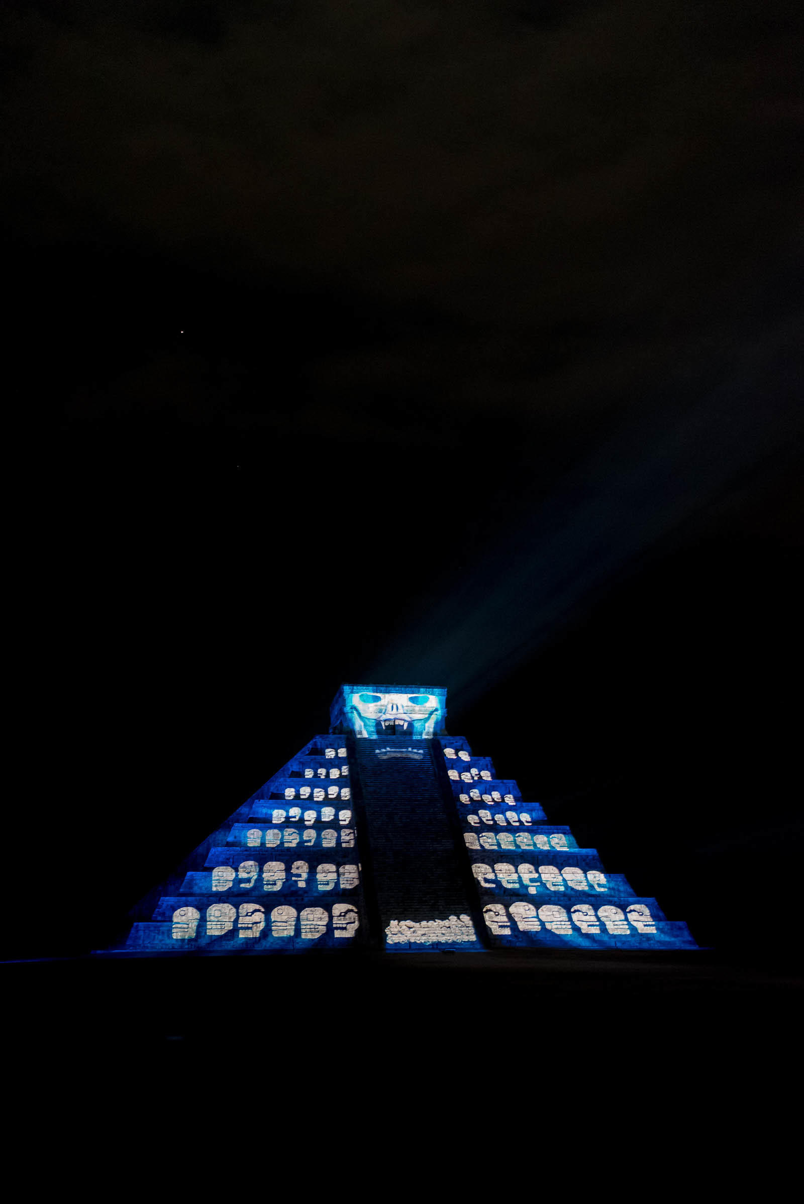 Chichen Itza Night Show 2017