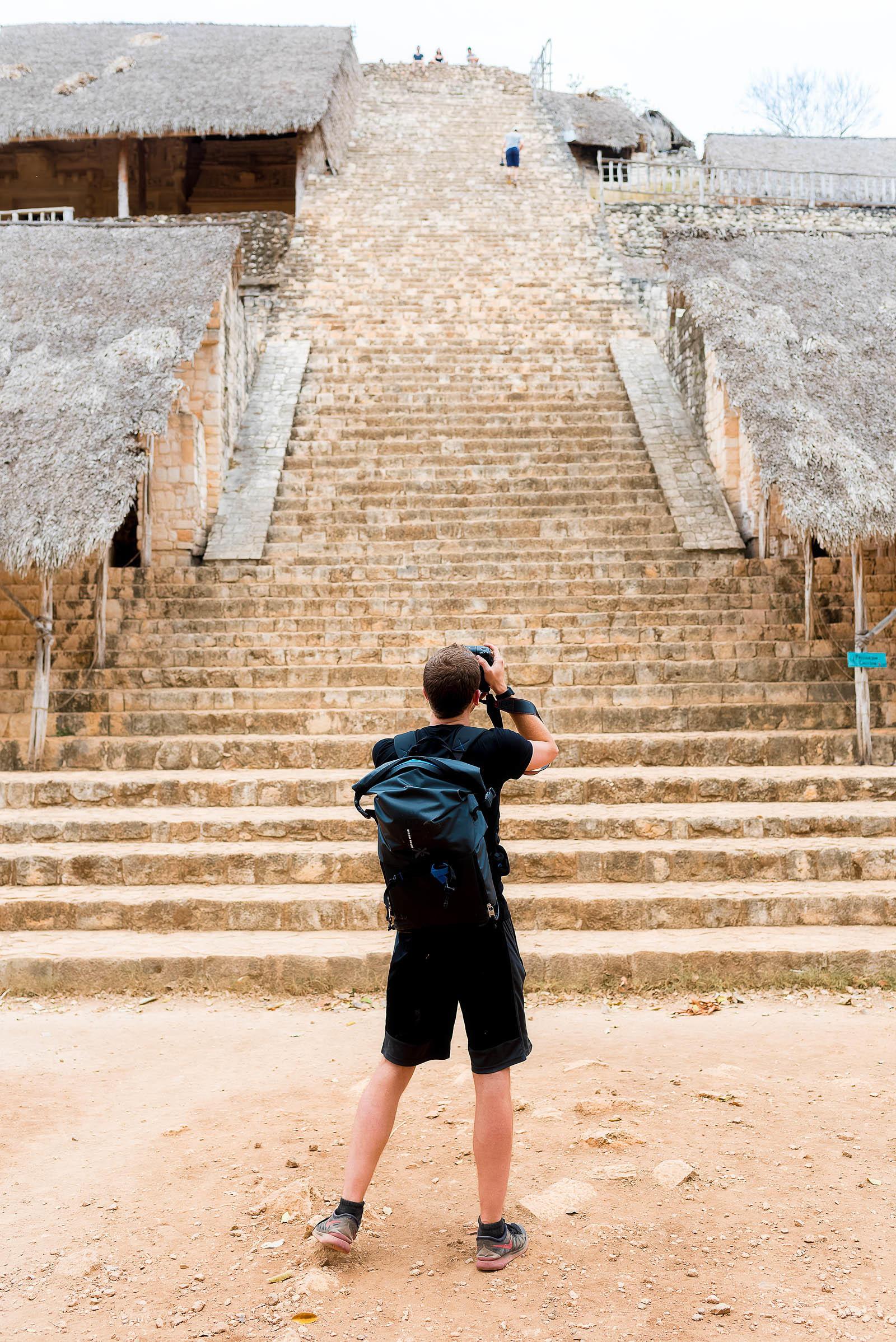 Ek Balam Mayan Archaeological Site and Mayan Cenote, Yucatán Mexico