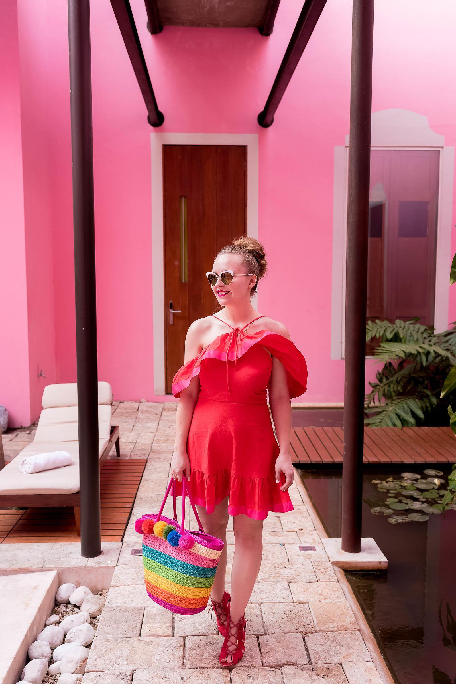 Rosas and Xocolate Hotel Merida Mexico