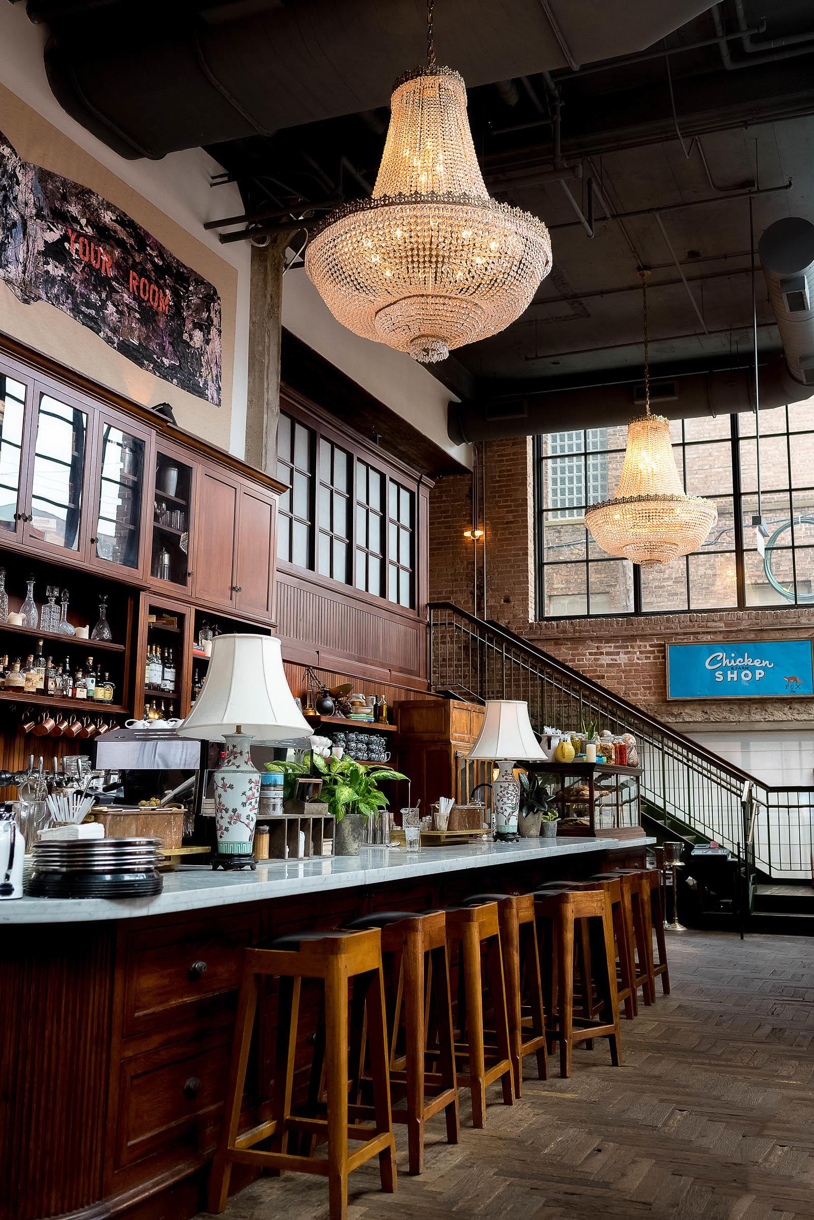 The Allis Breakfast Soho House Chicago