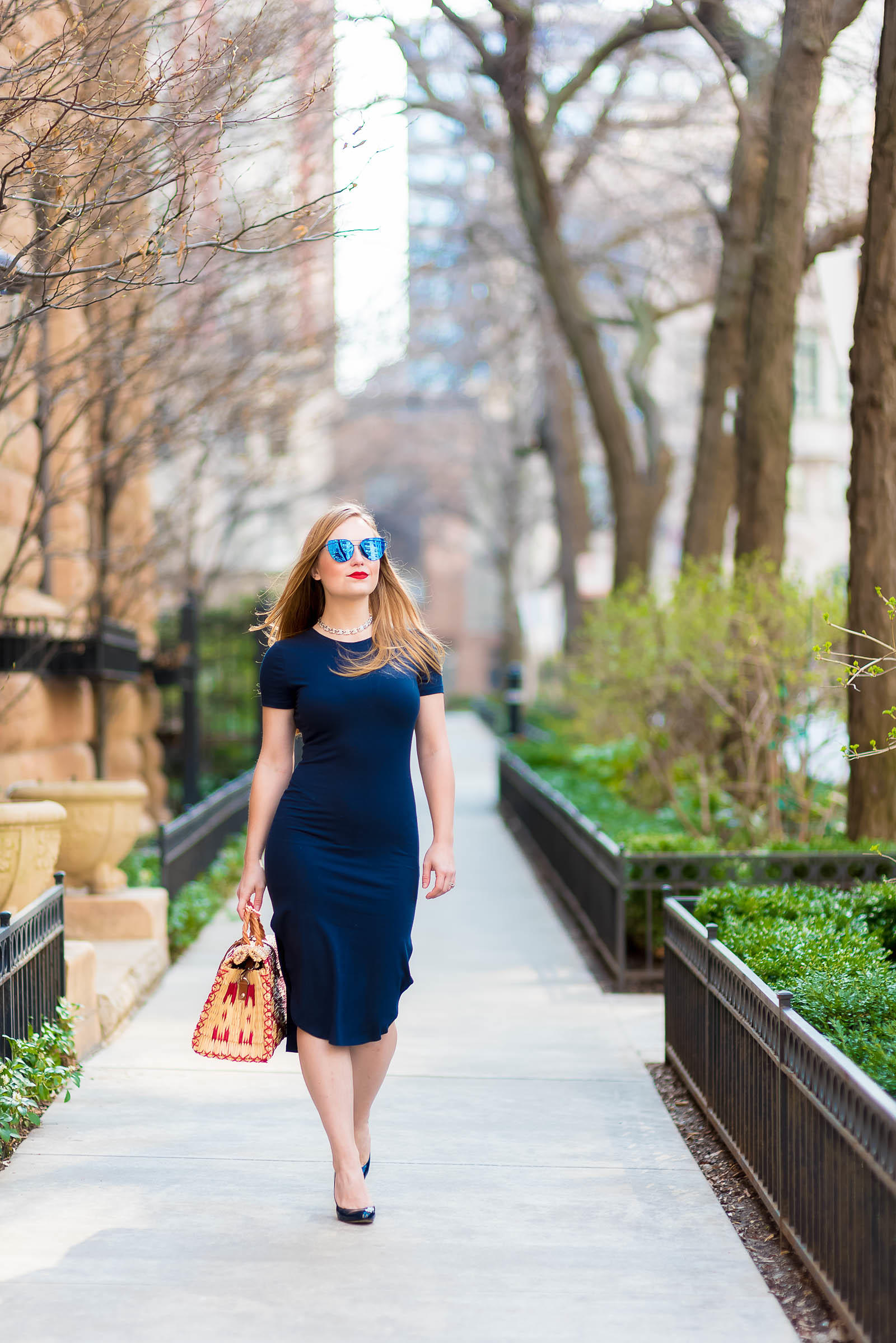 Navy Office Outfit Inspiration