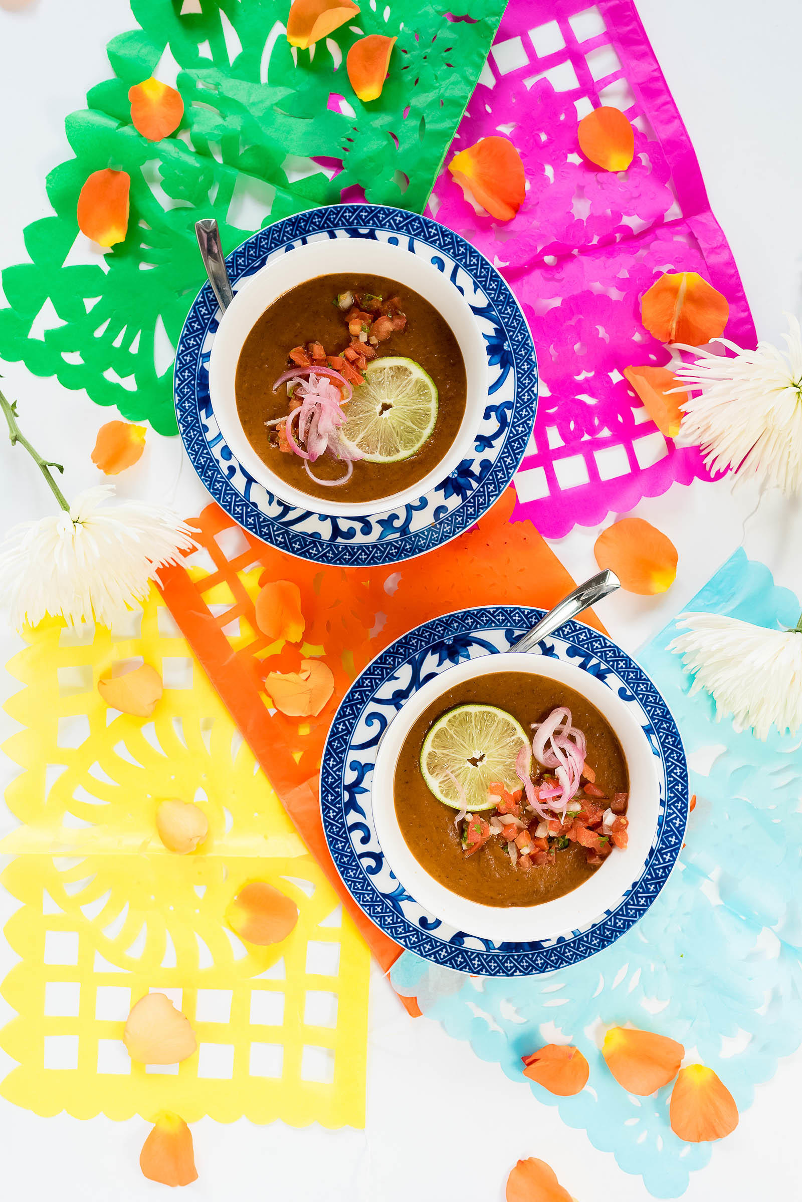 Puréed Black Bean Soup Cinco de Mayo Recipes