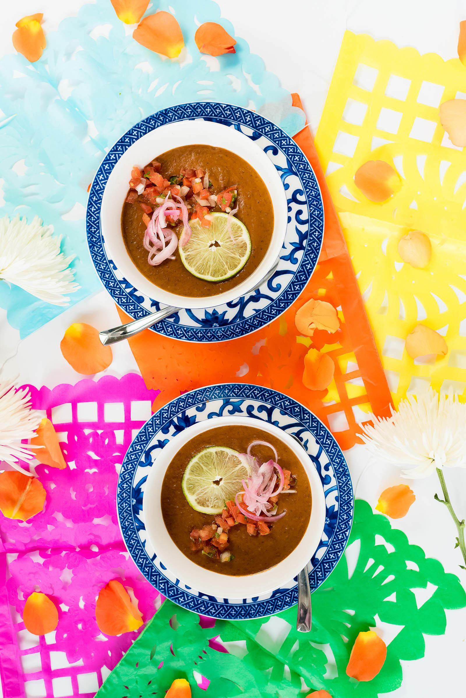 Puréed Black Bean Soup Cinco de Mayo Recipes