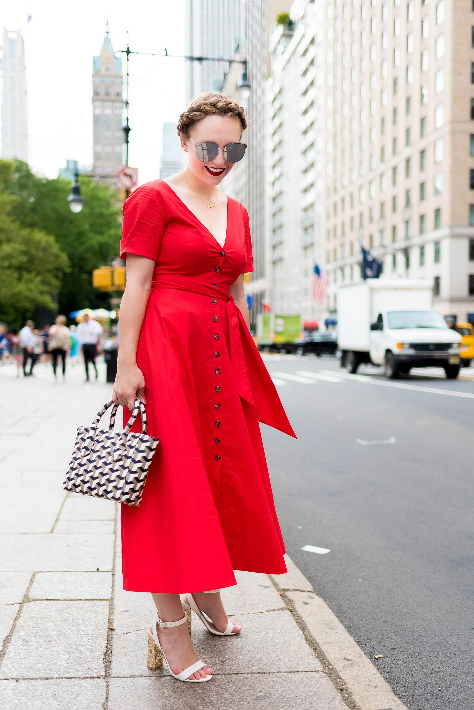 Saloni Dress NYC Street Style