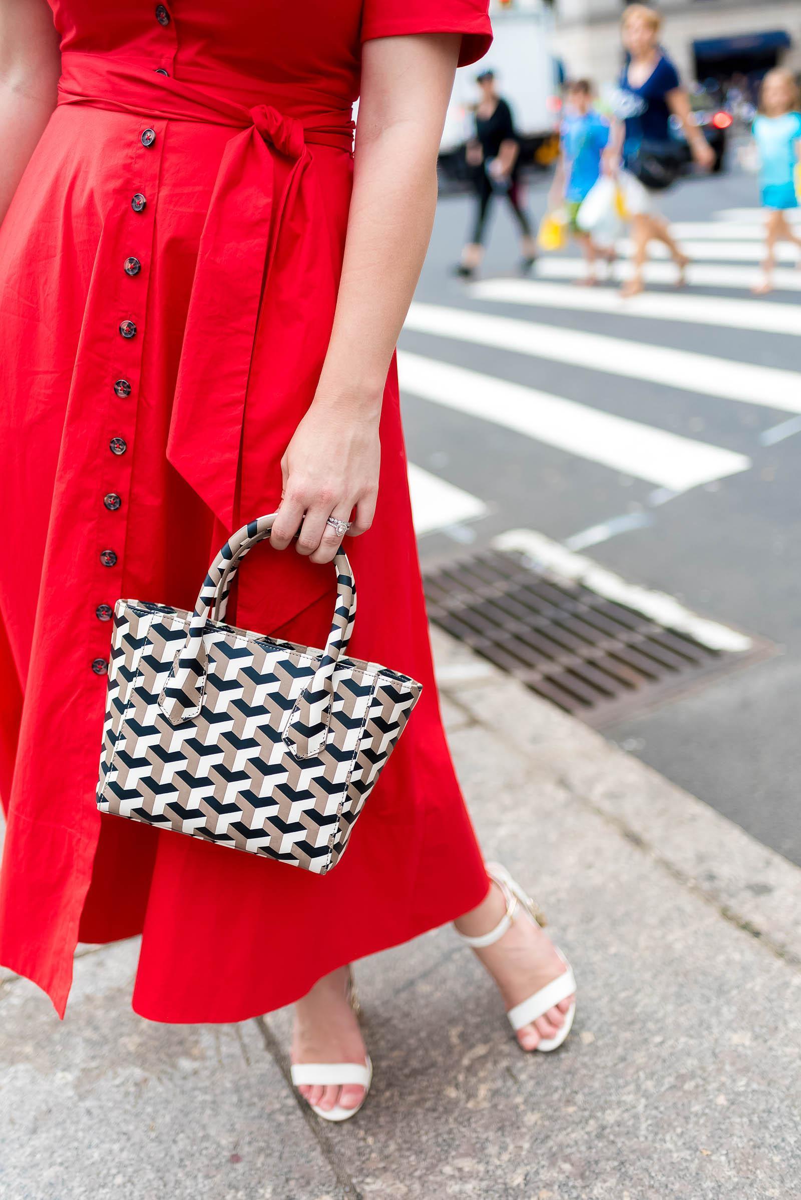 Saloni Dress NYC Street Style