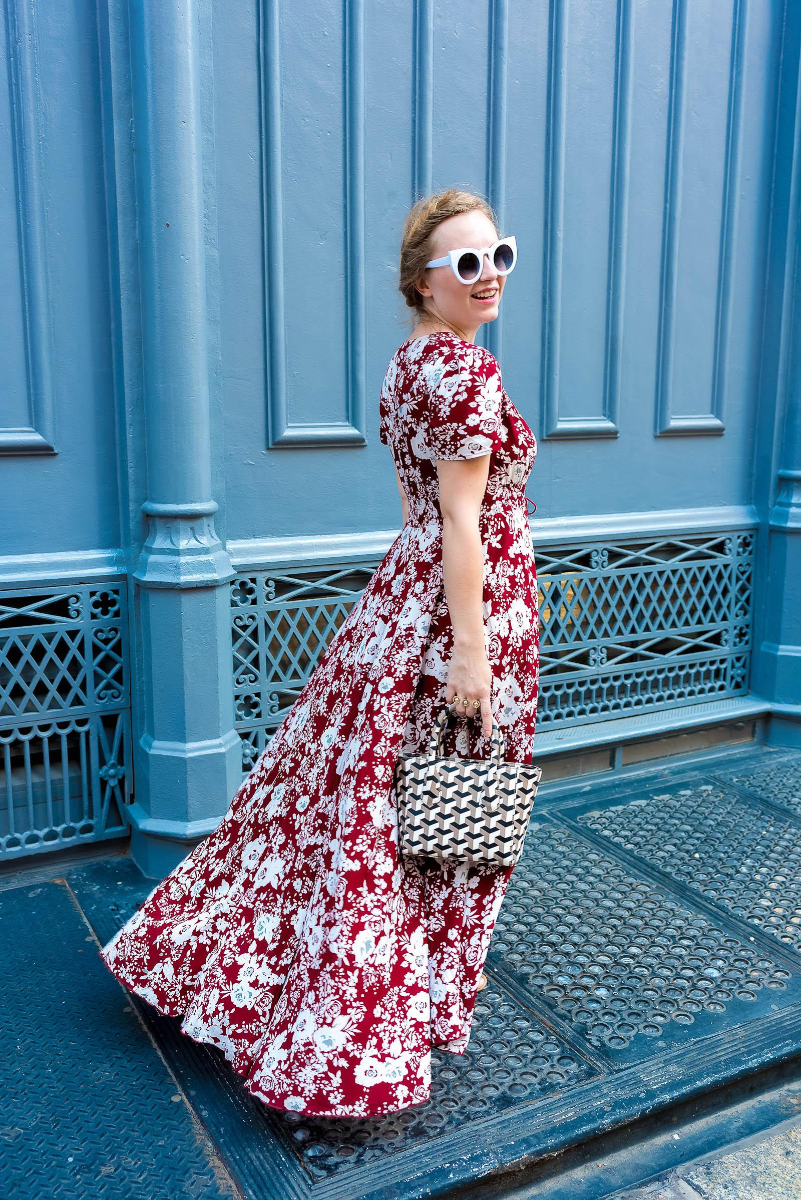 Soho Street Style Maxi Dress