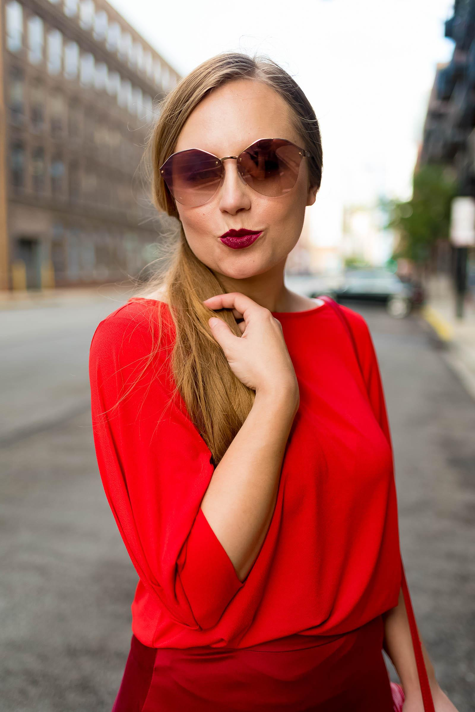All Red Fall Outfit