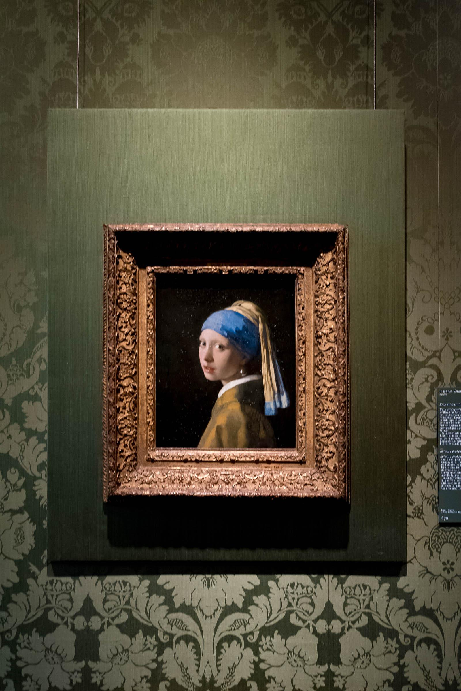 Vermeer's A Girl With A Pearl Earring Painting