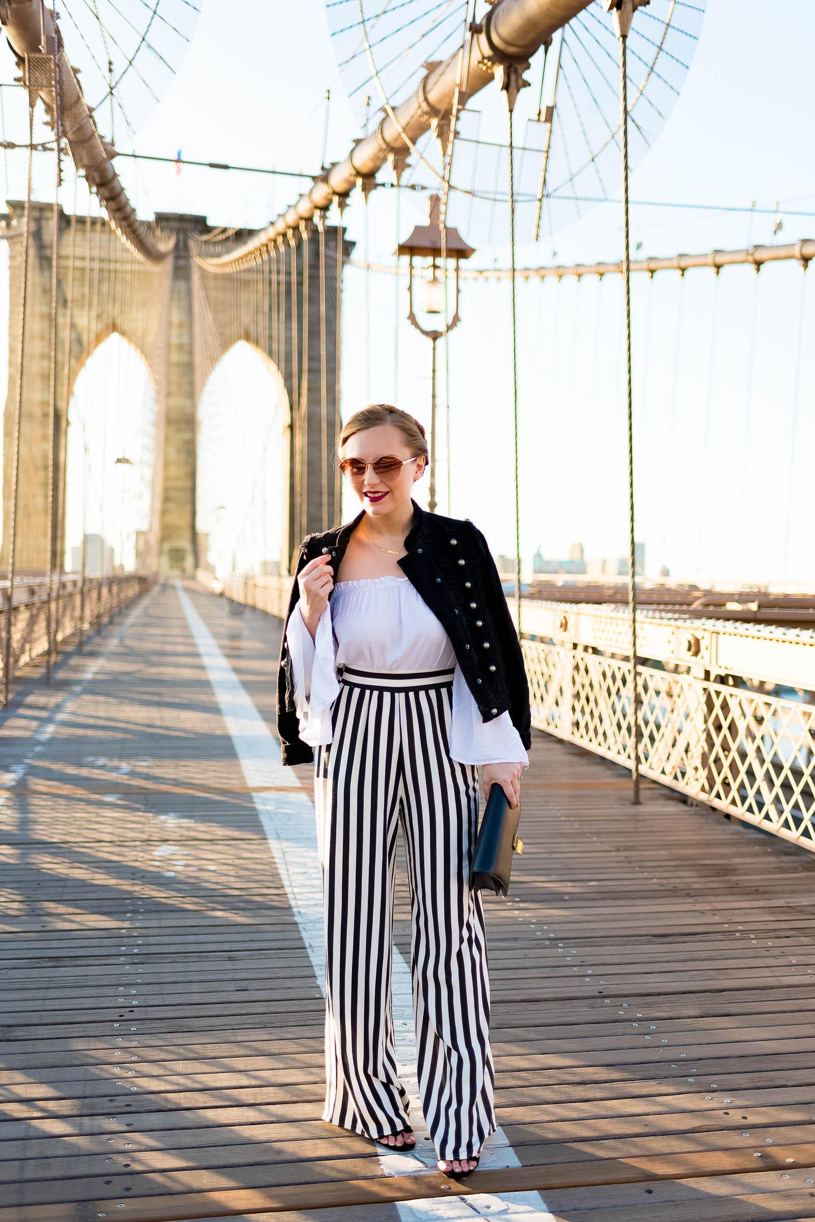 Brooklyn Bridge NYC Outfit