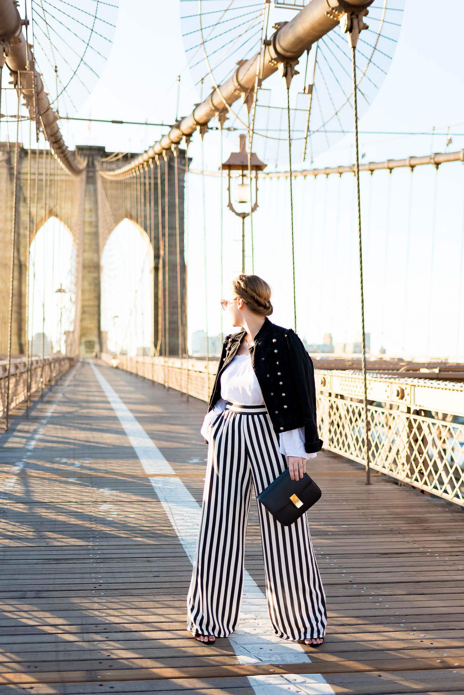 Brooklyn Bridge NYC Outfit