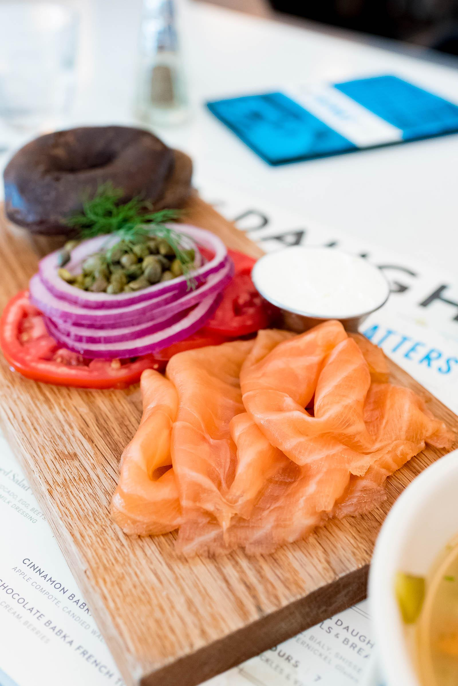 Russ & Daughters Cafe NYC