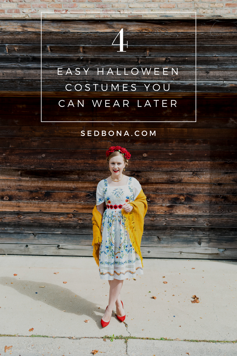4 Easy Halloween Costumes You Can Wear Later