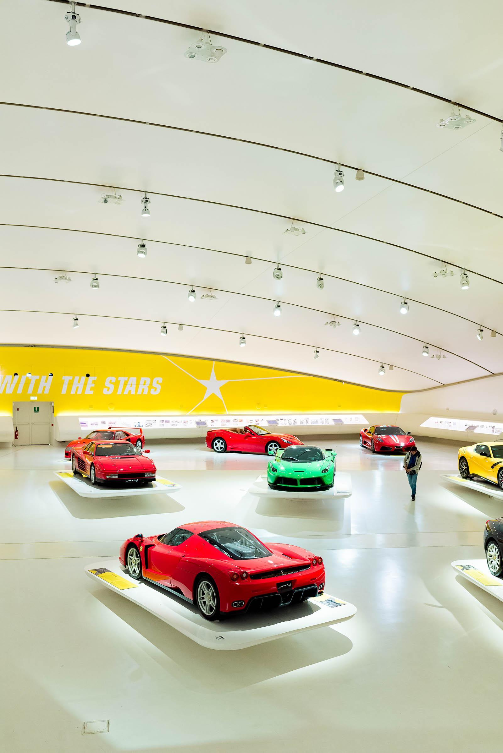 Museo Casa Enzo Ferrari Modena Italy
