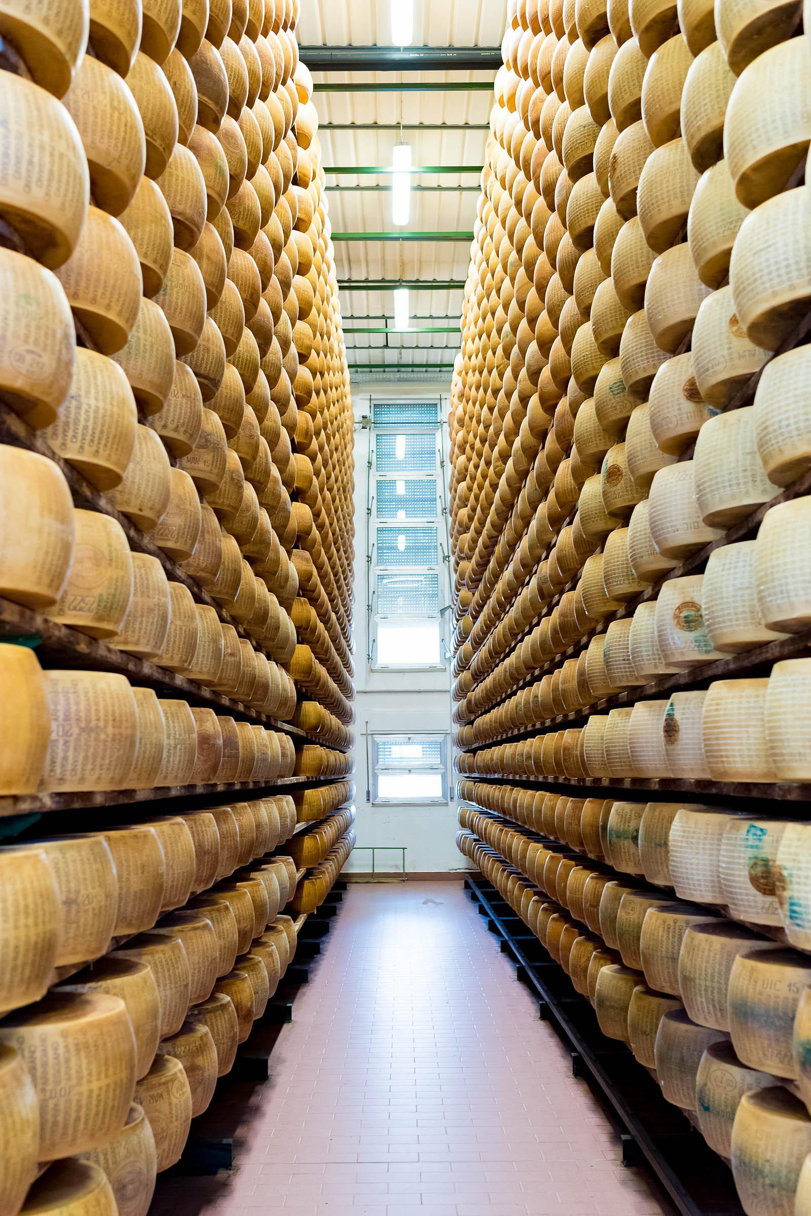 Parmigiano-Reggiano Factory Tour Parma Italy