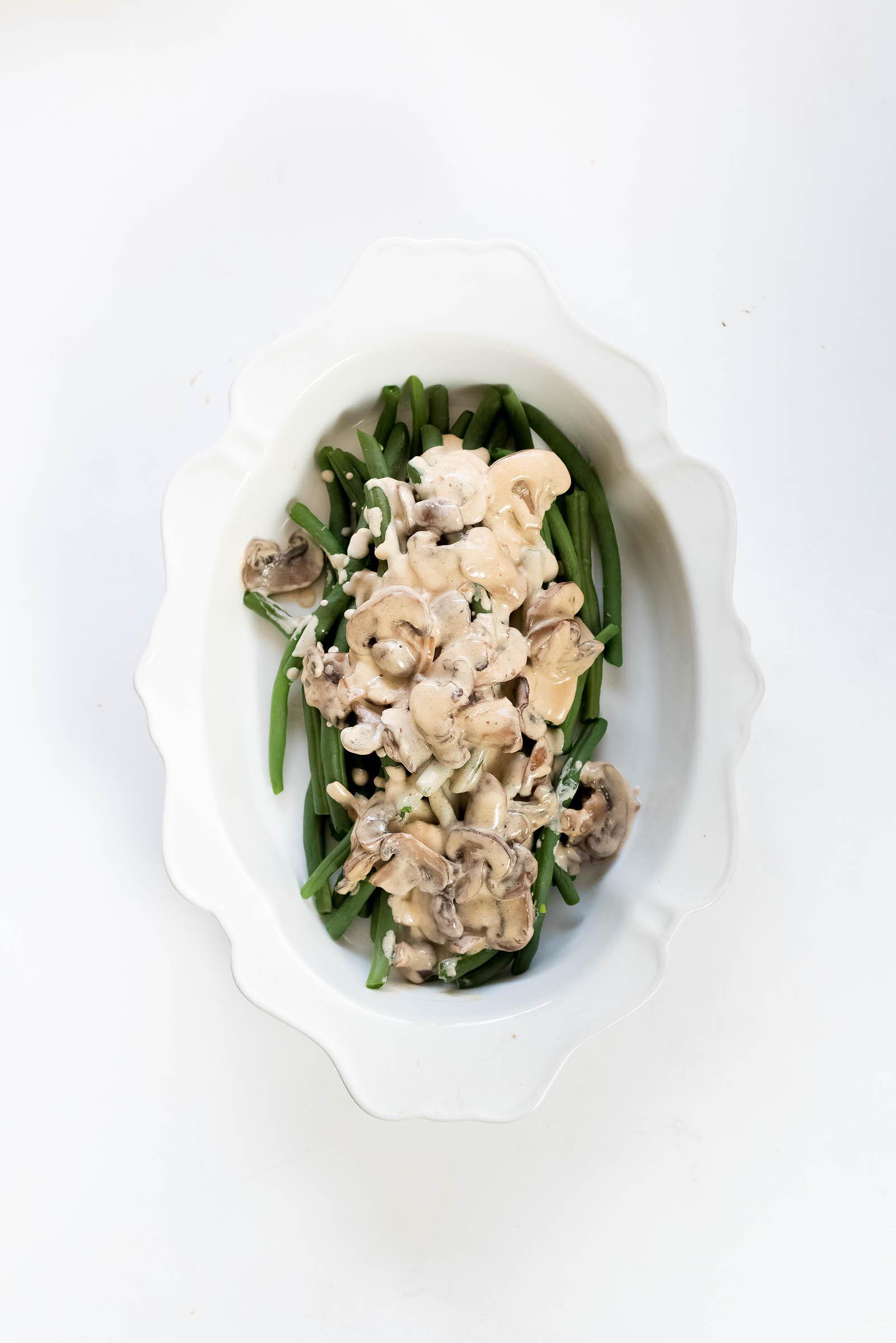 Deconstructed Green Bean Casserole Thanksgiving Recipe