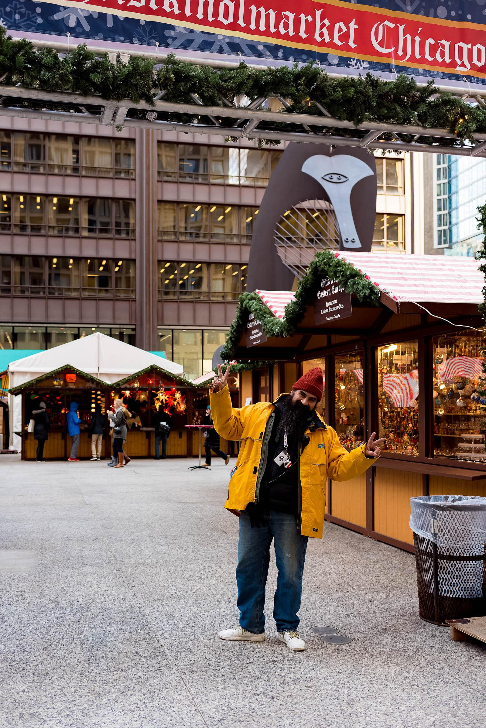 Christkindl Market Chicago 2017