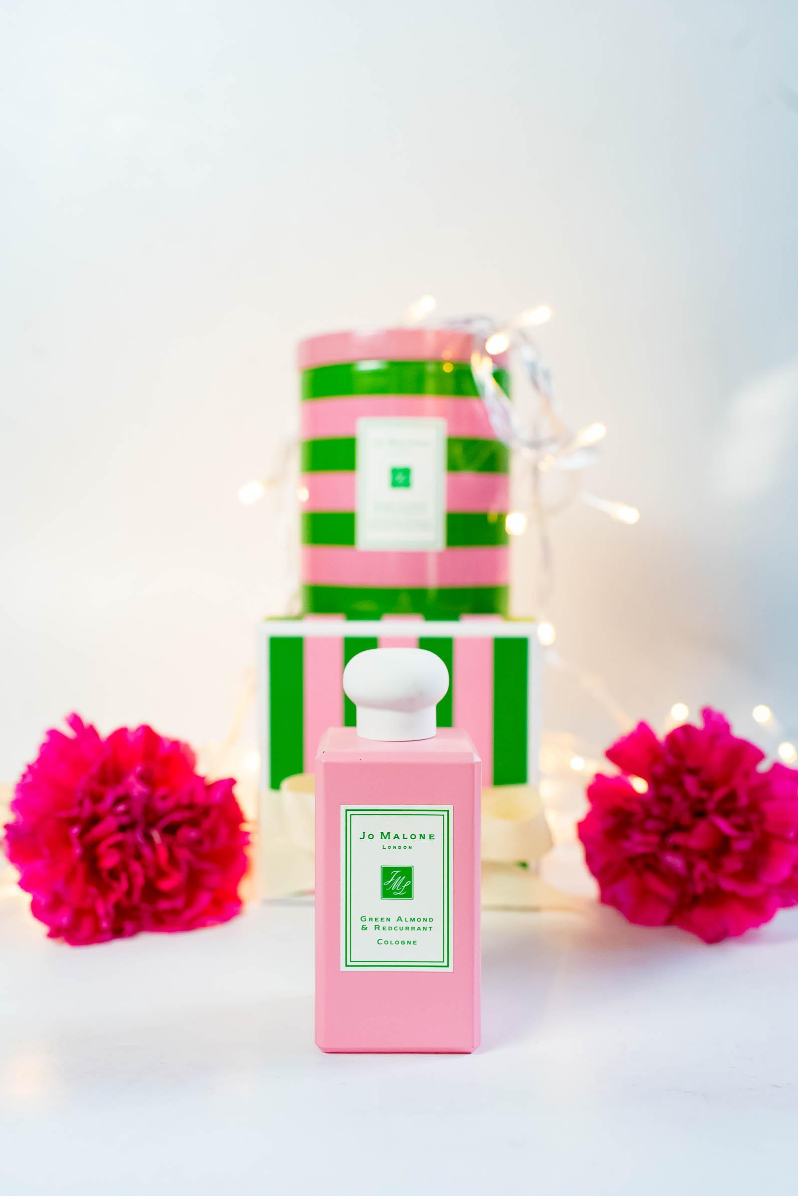 Jo Malone London Green Almond And Redcurrant Cologne and Christmas Candle