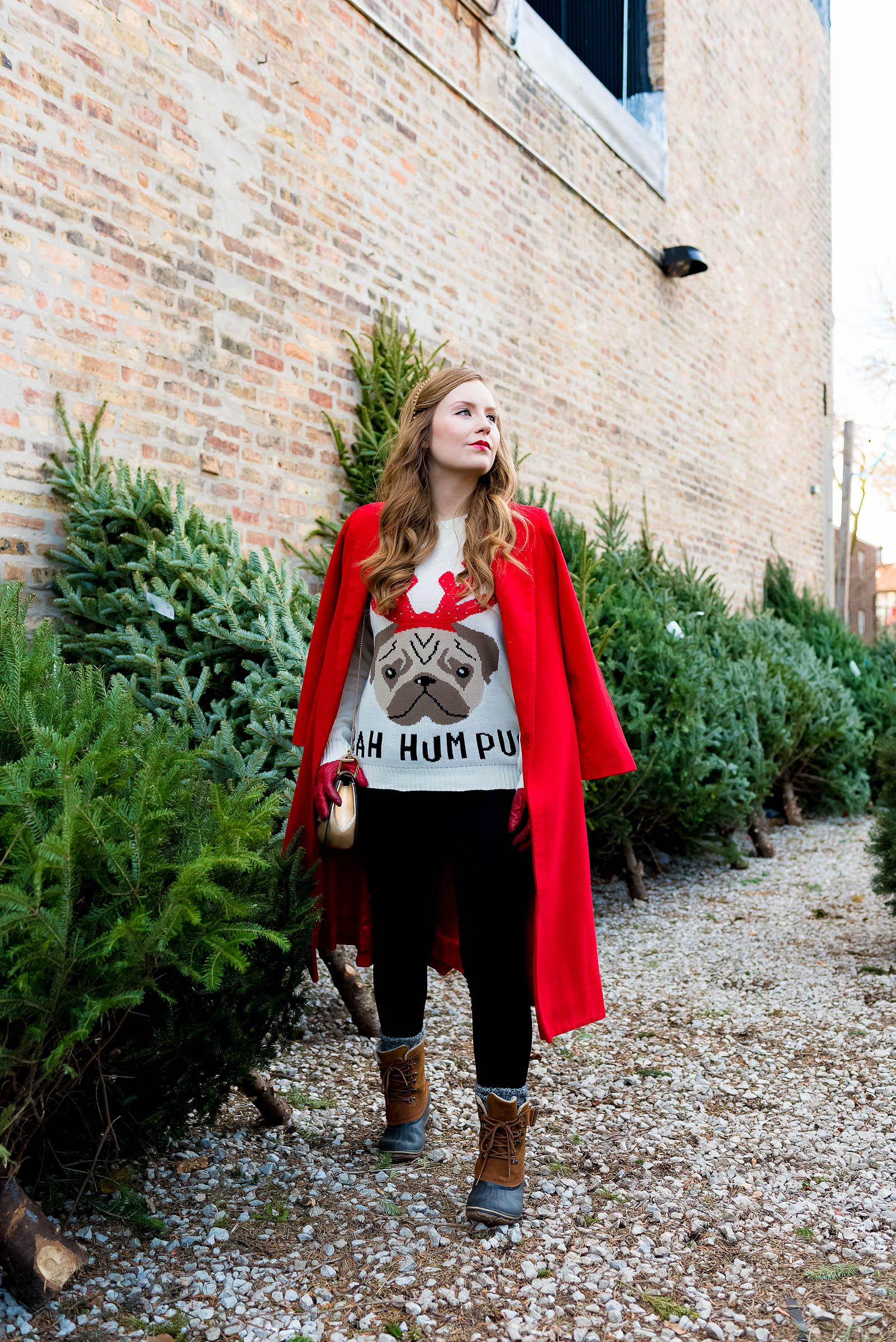 Ugly Christmas Sweater Outfit 2017