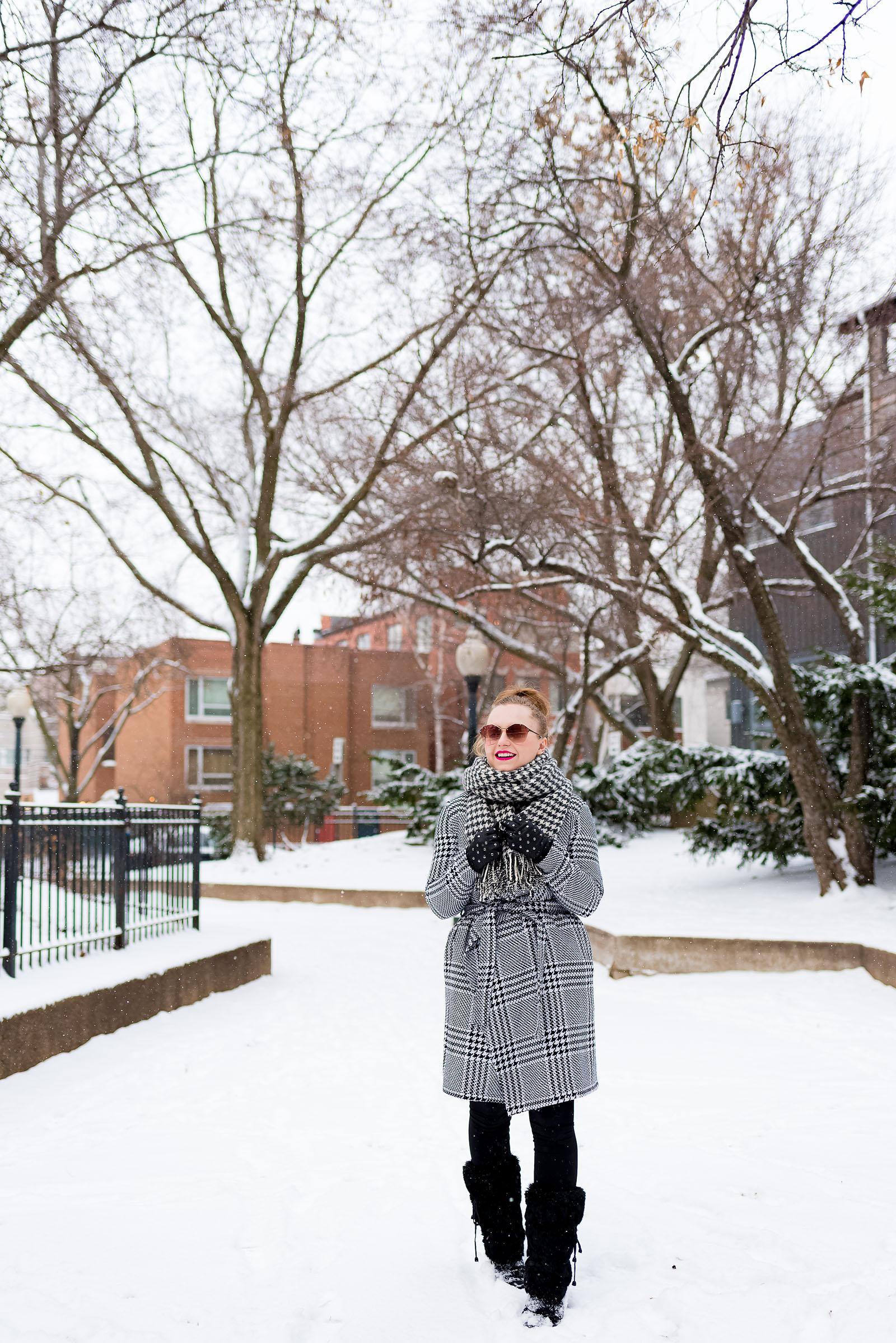 Chic Snow Style