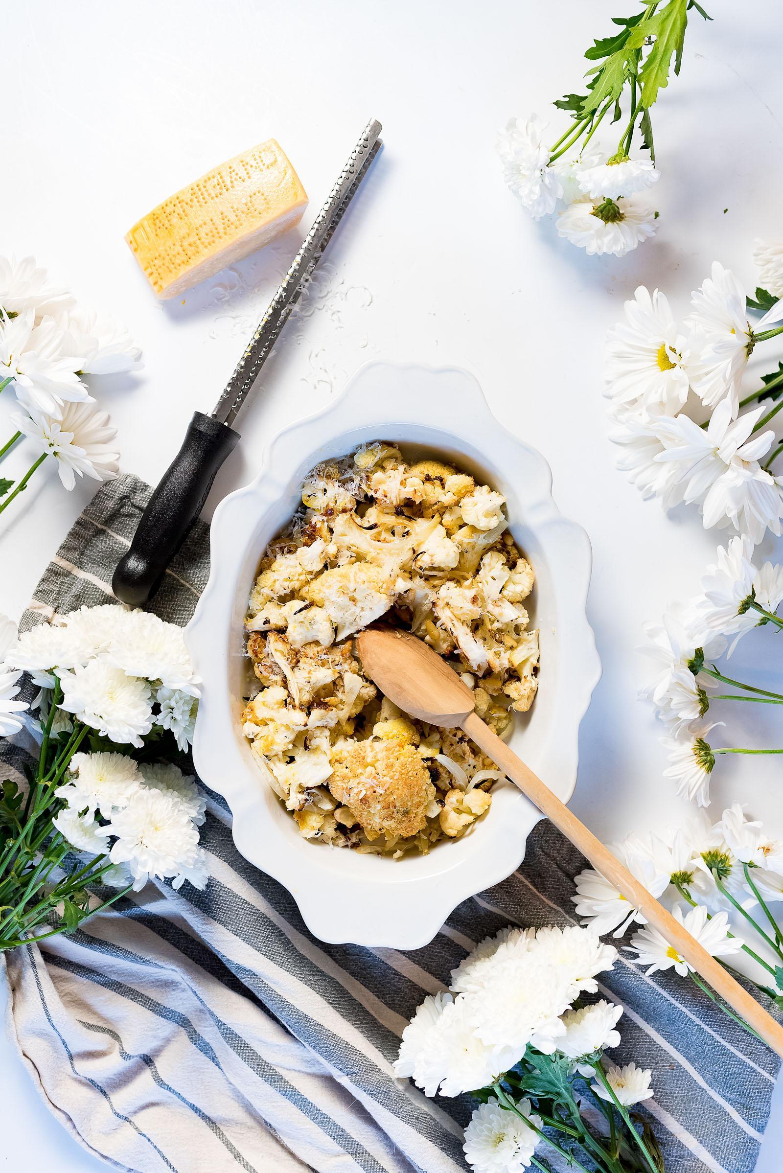 Saffron Roasted Cauliflower Recipe
