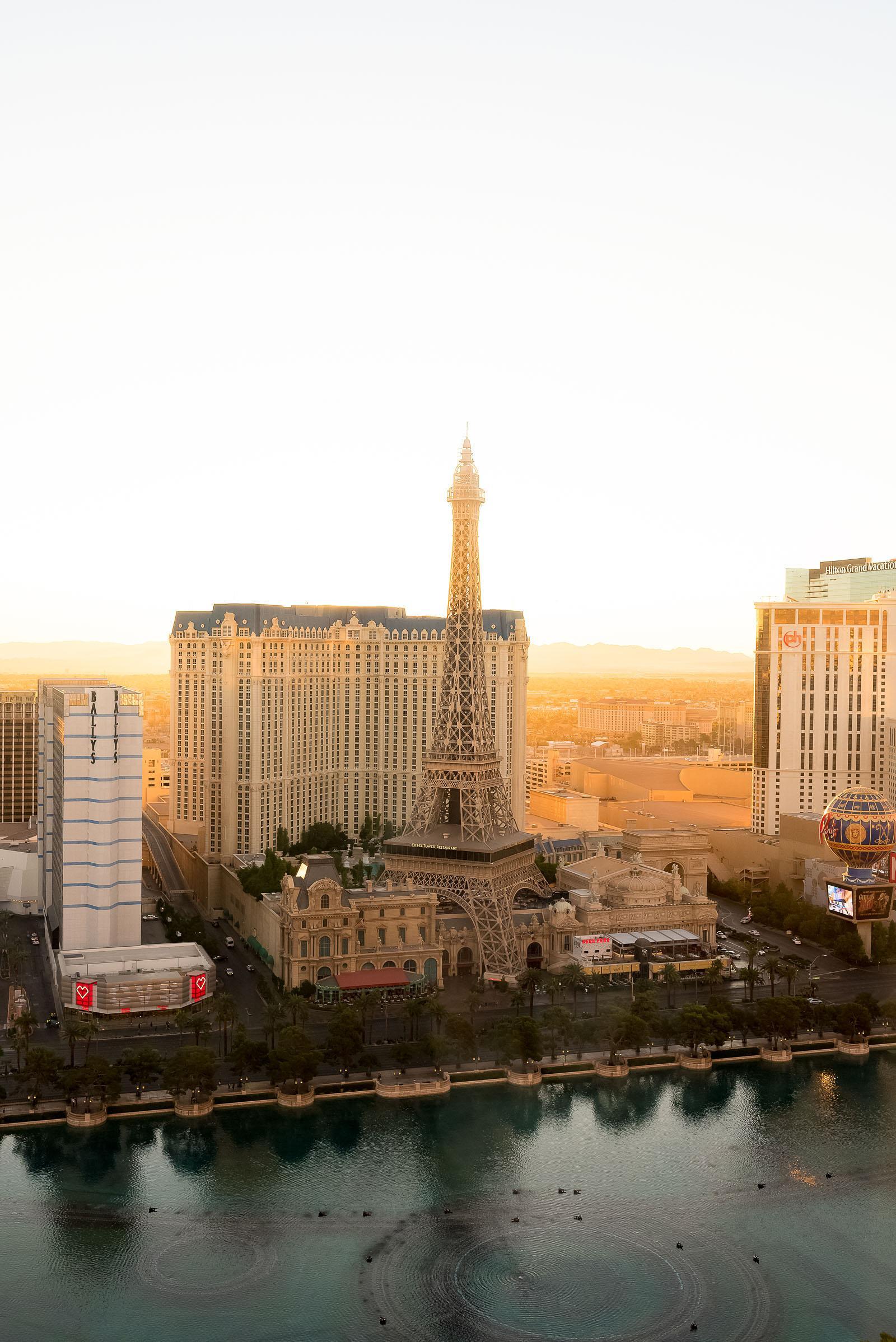 Bellagio Las Vegas Penthouse Fountain-View