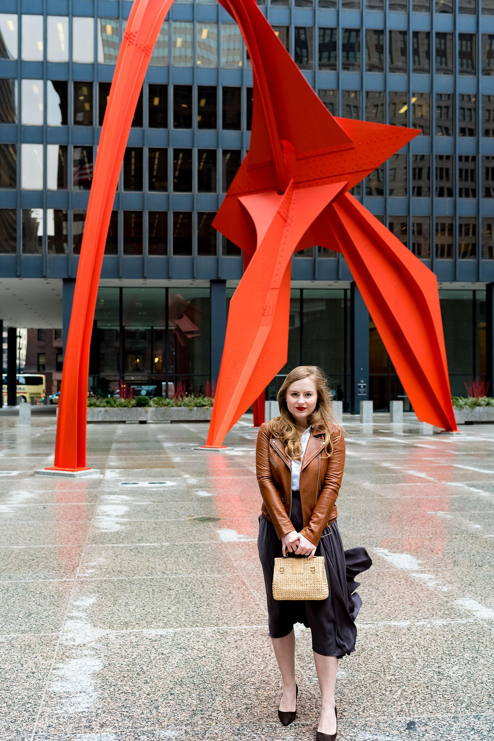 Chicago Loop Fashion Blogger