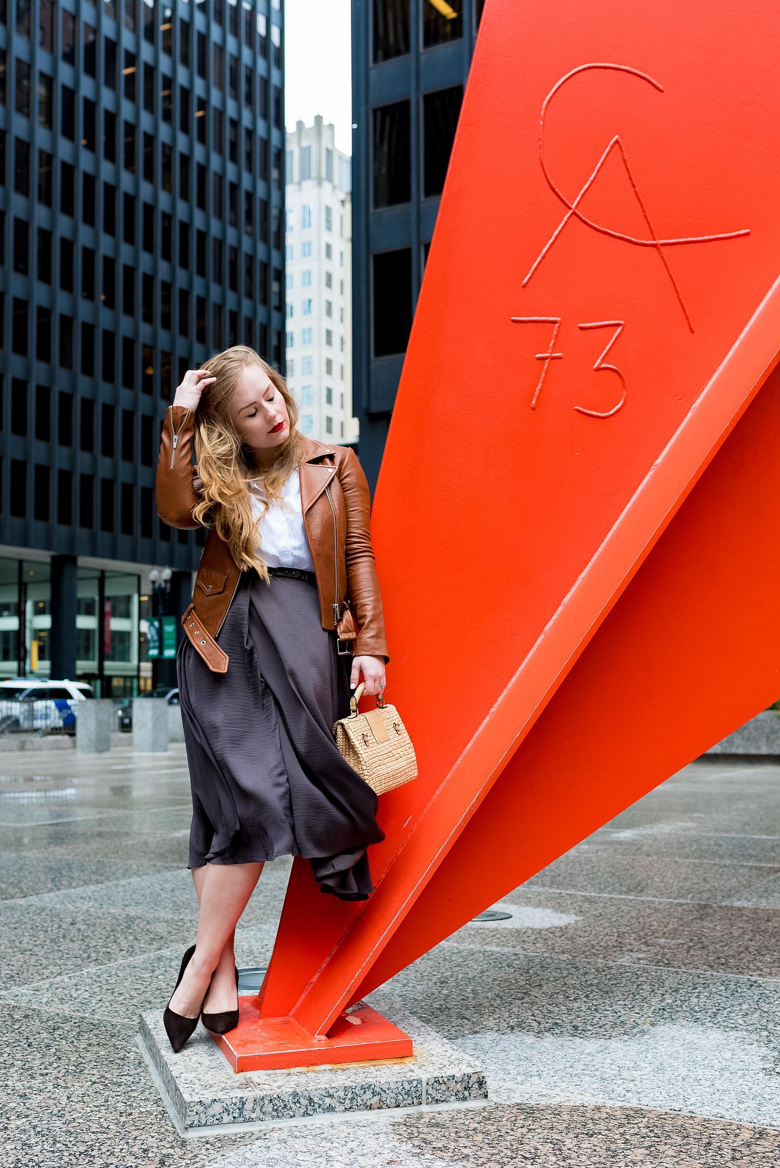 Chicago Loop Fashion Blogger
