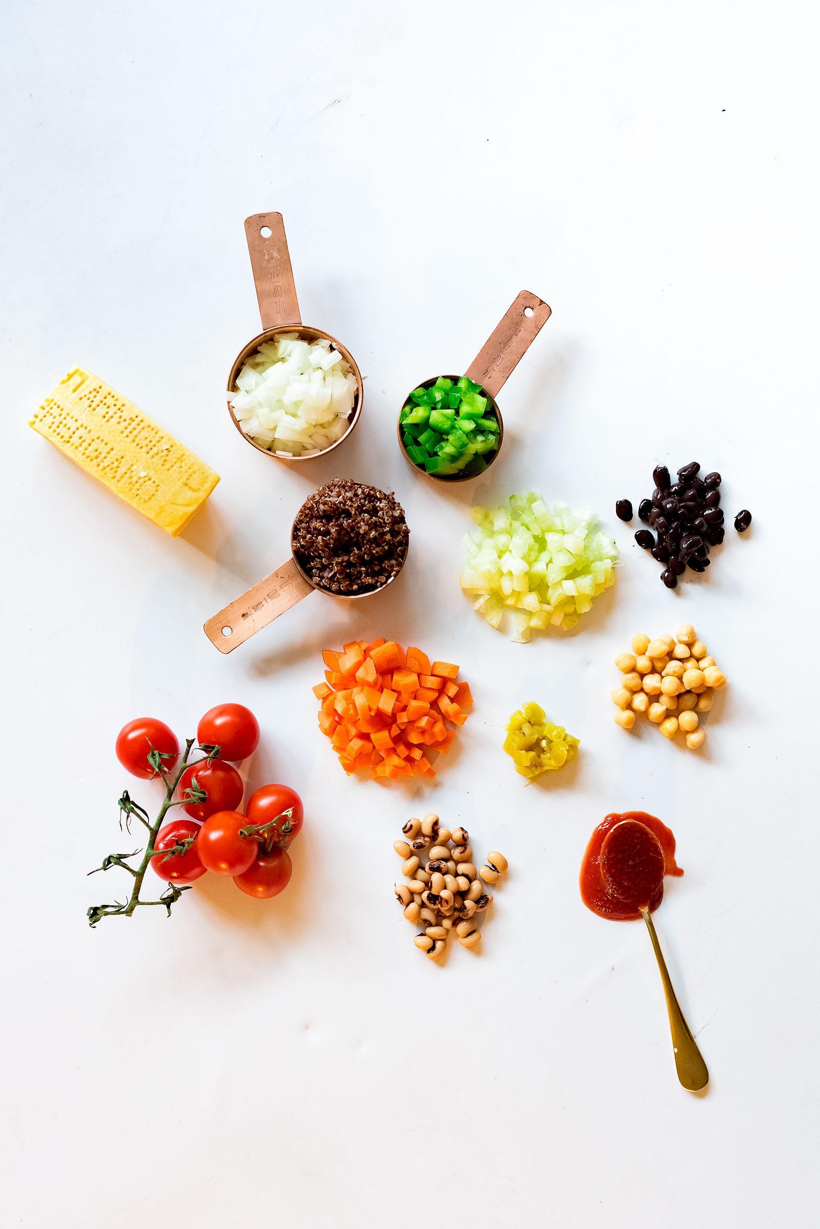 Vegetarian Quinoa Chili Soup Recipe