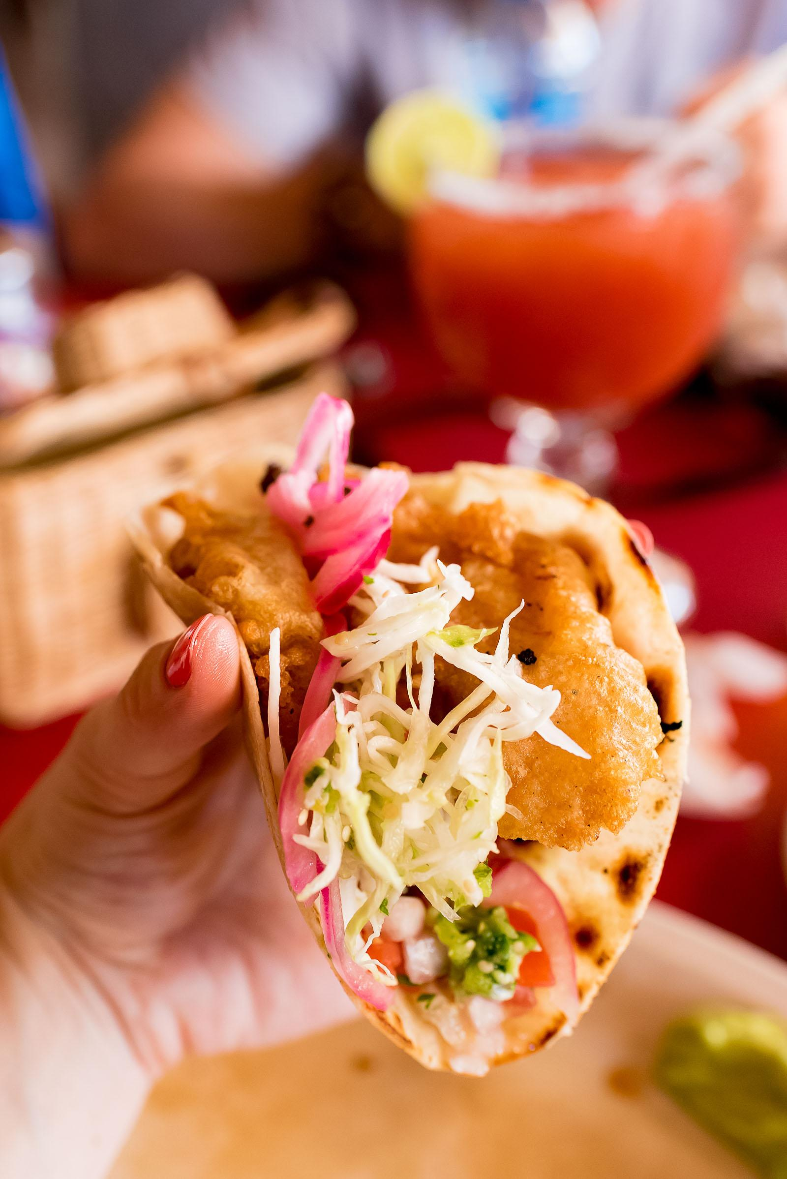 Claro Fish Jr. Los Cabos Tacos