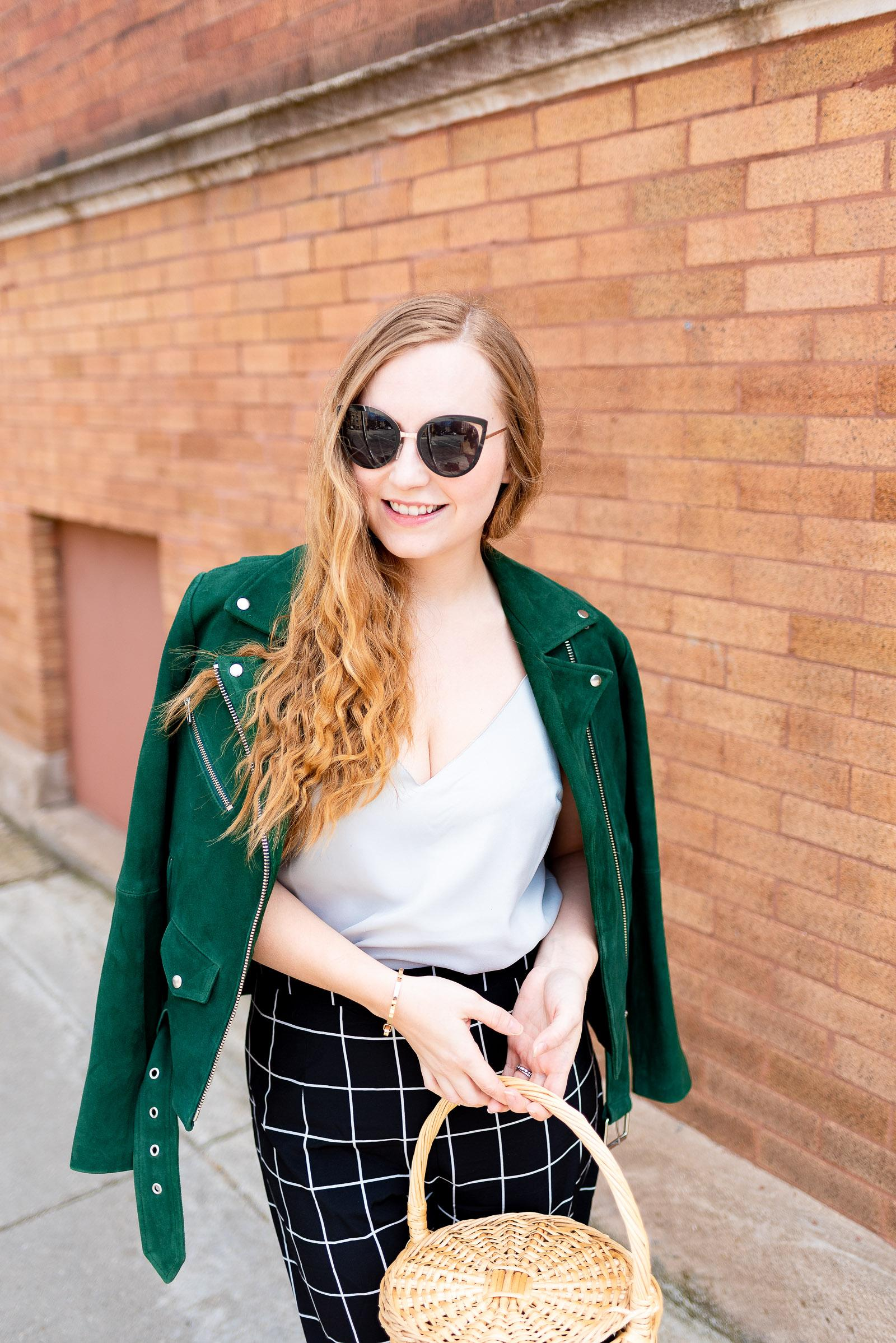 Veda Moto Jacket Spring Outfit