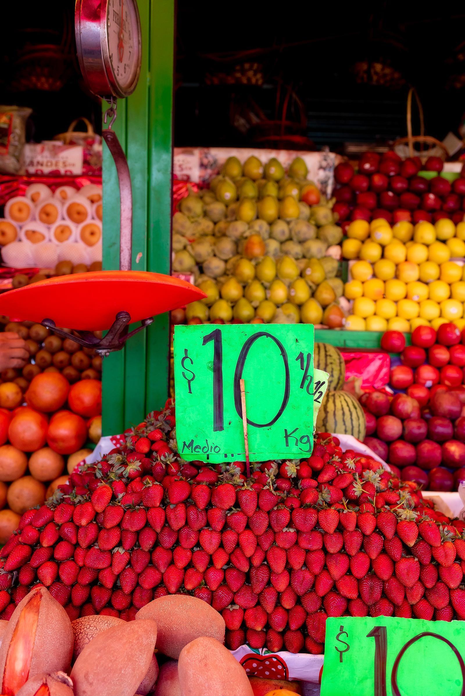 Revolución Market Morelia Mexico
