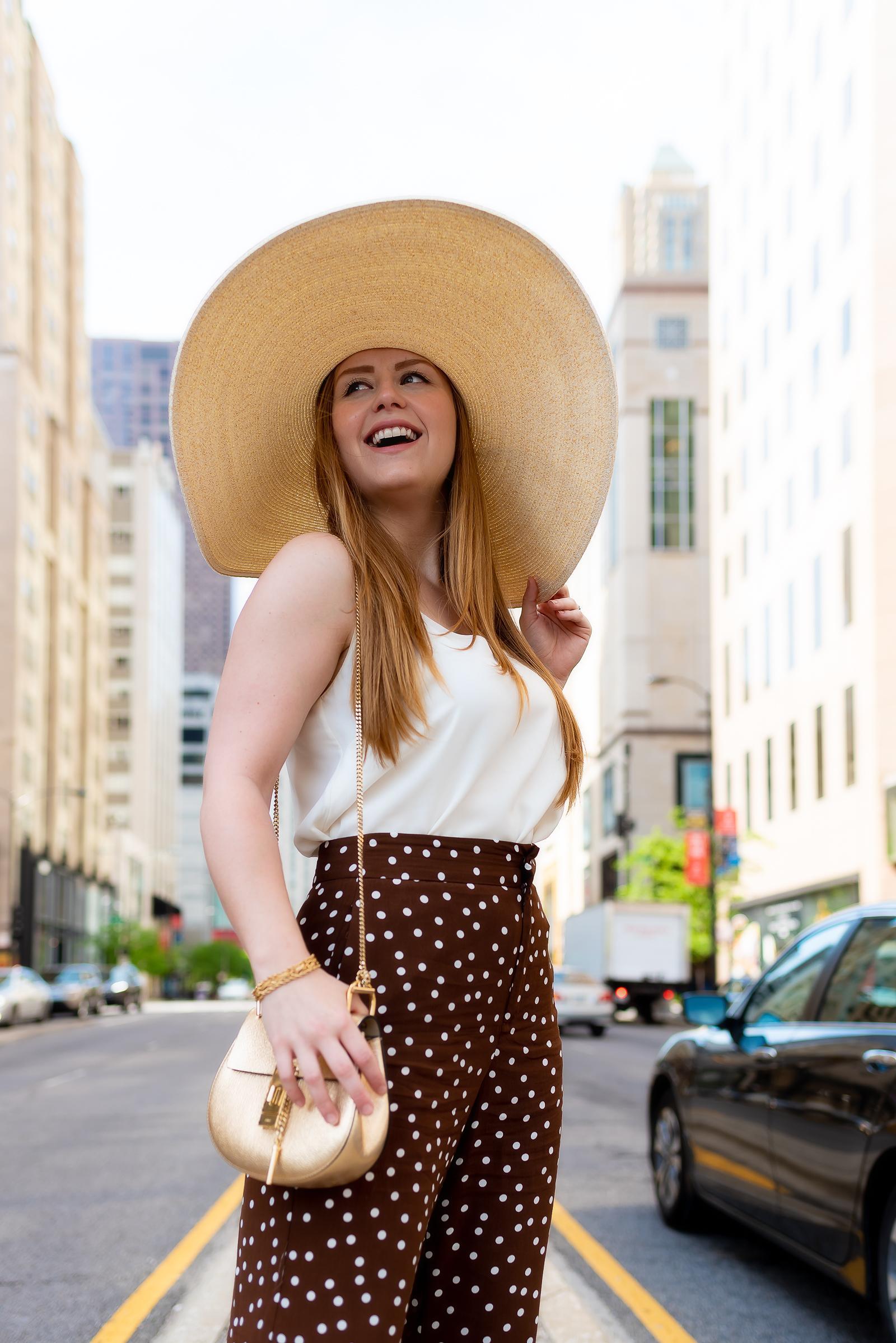 Polka Dot Summer Outfit