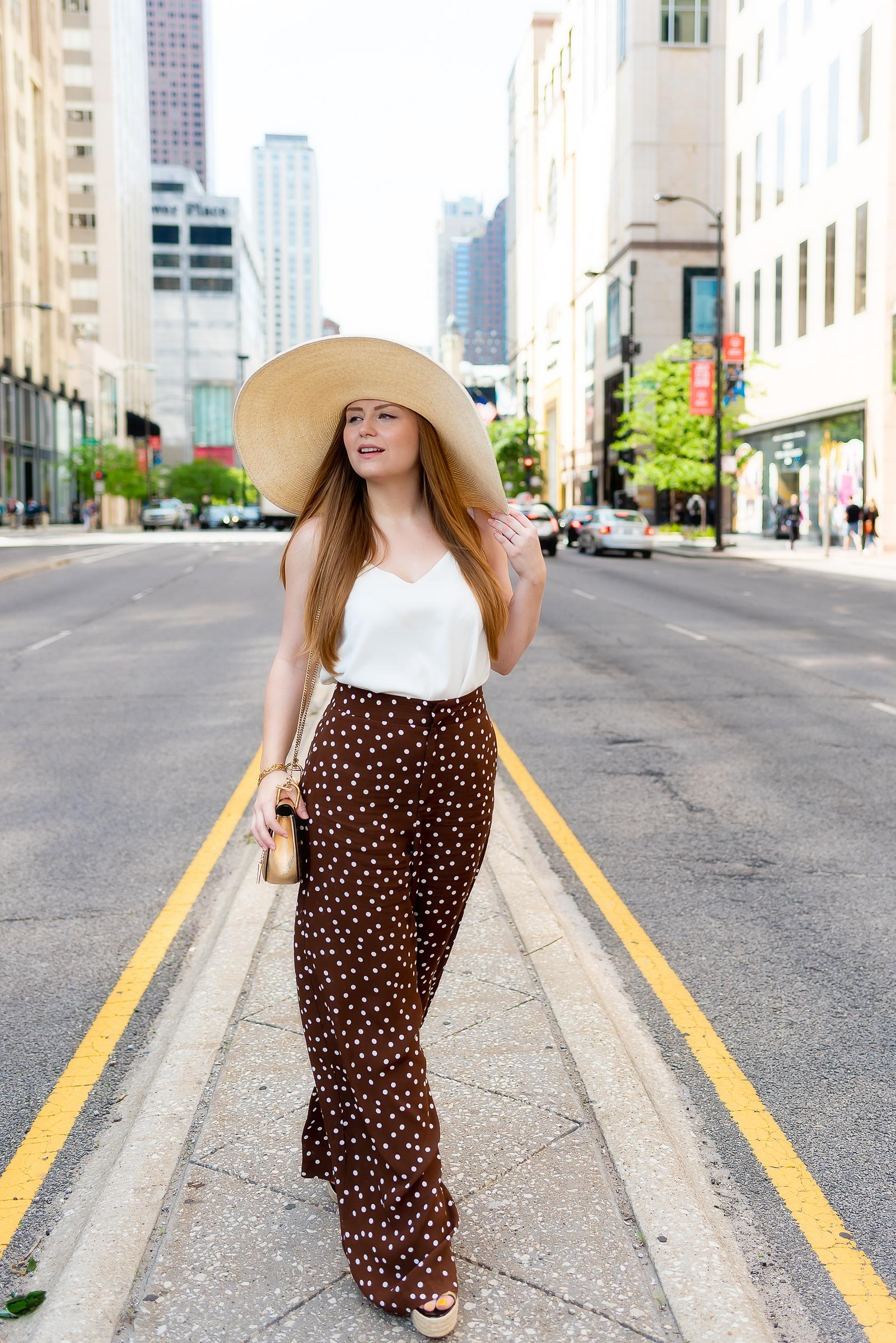 Polka Dot Summer Outfit