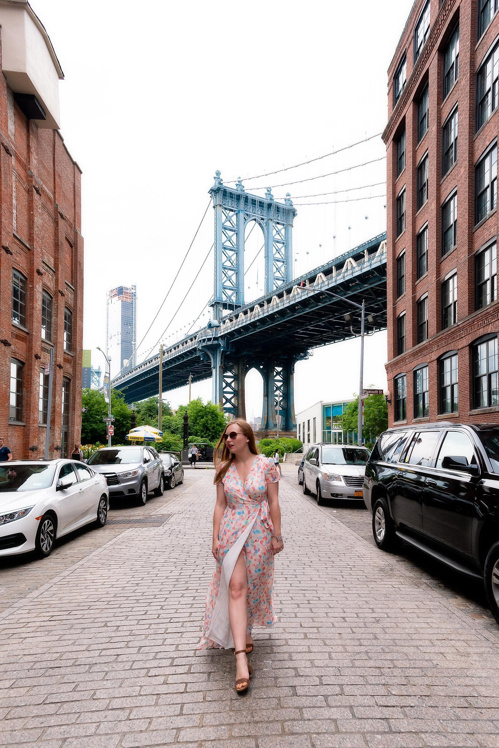 Manhattan Bridge View Brooklyn