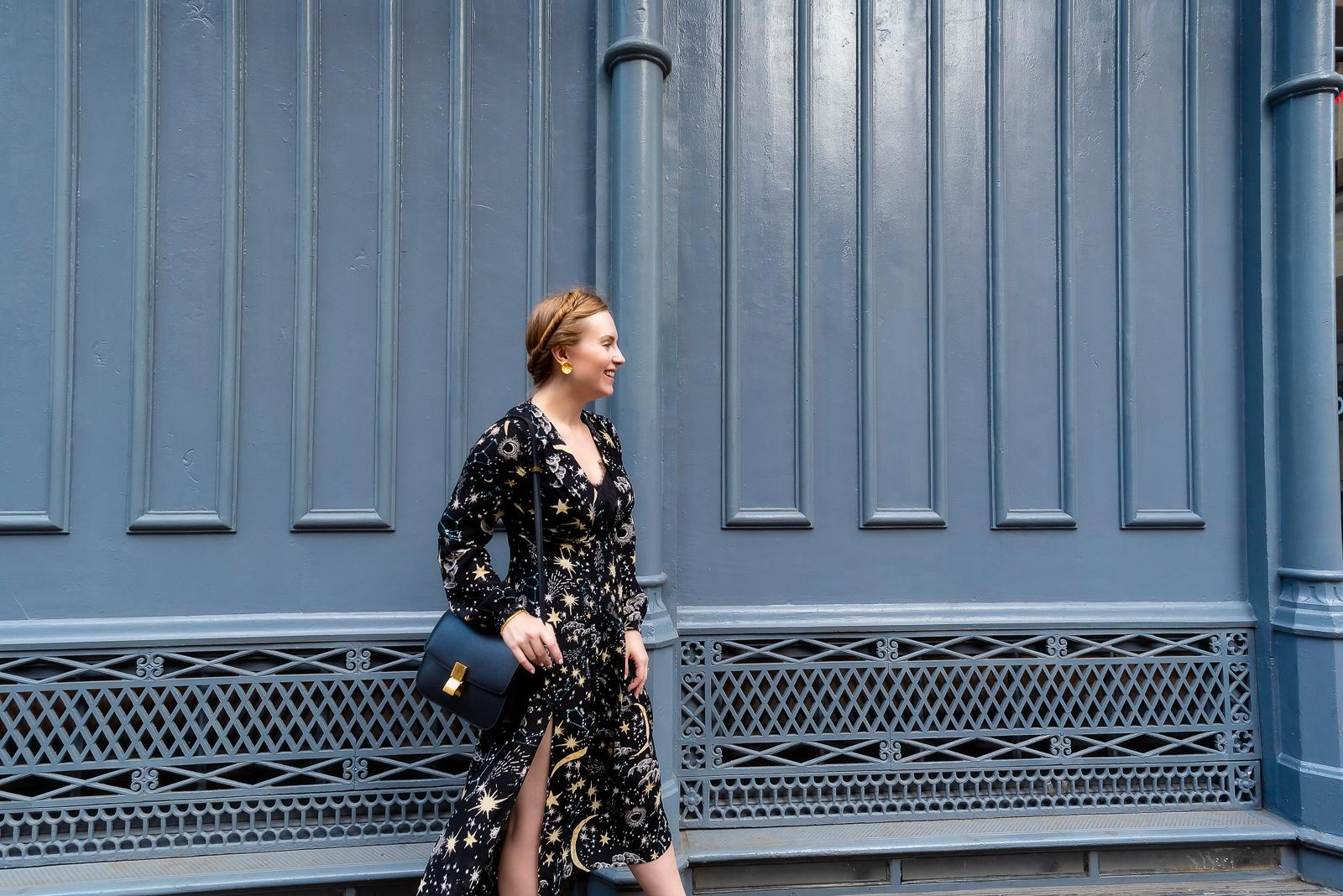 Star Print Soho NYC Outfit