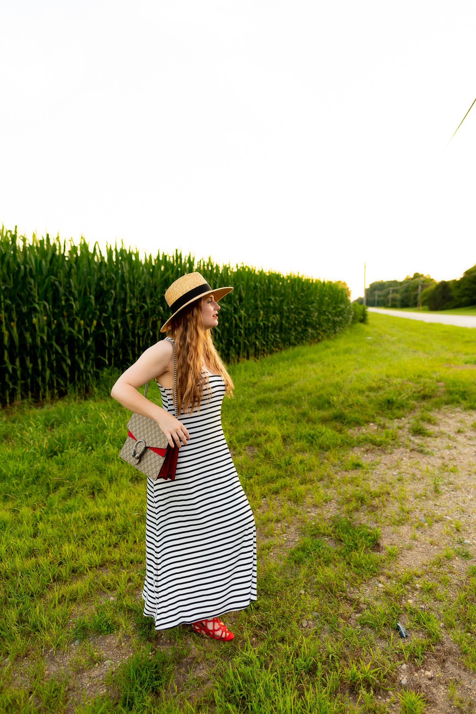 Gucci Stripe Summer Outfit