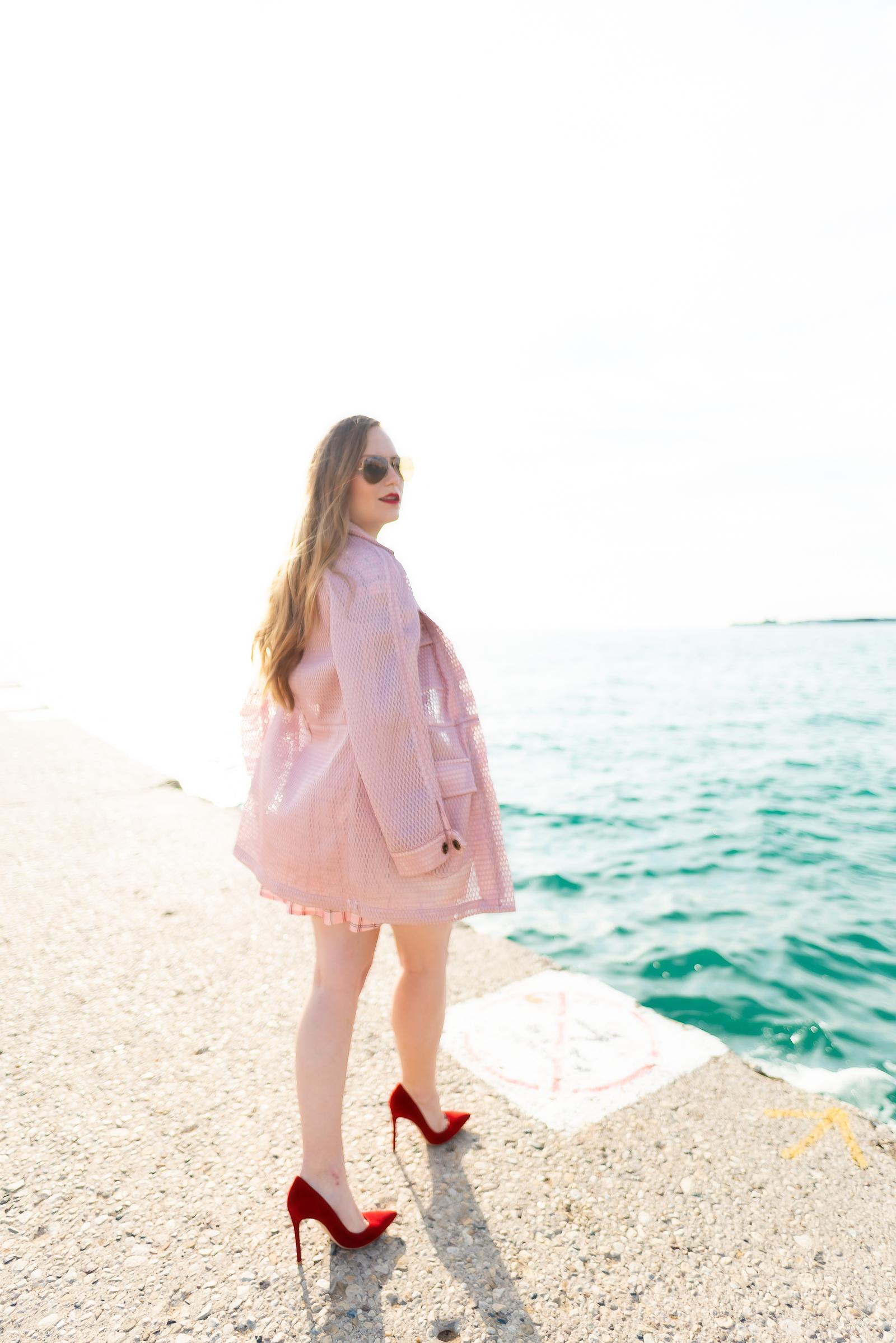Pink Parka Outfit