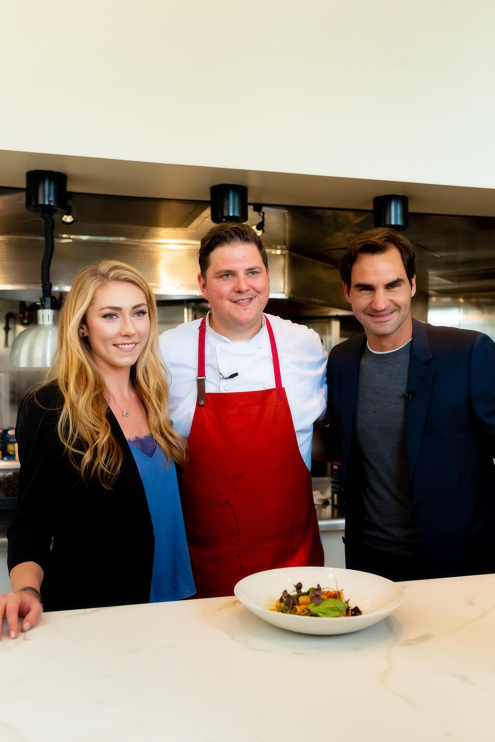 Barilla Collezione Roger Federer Chicago Lunch