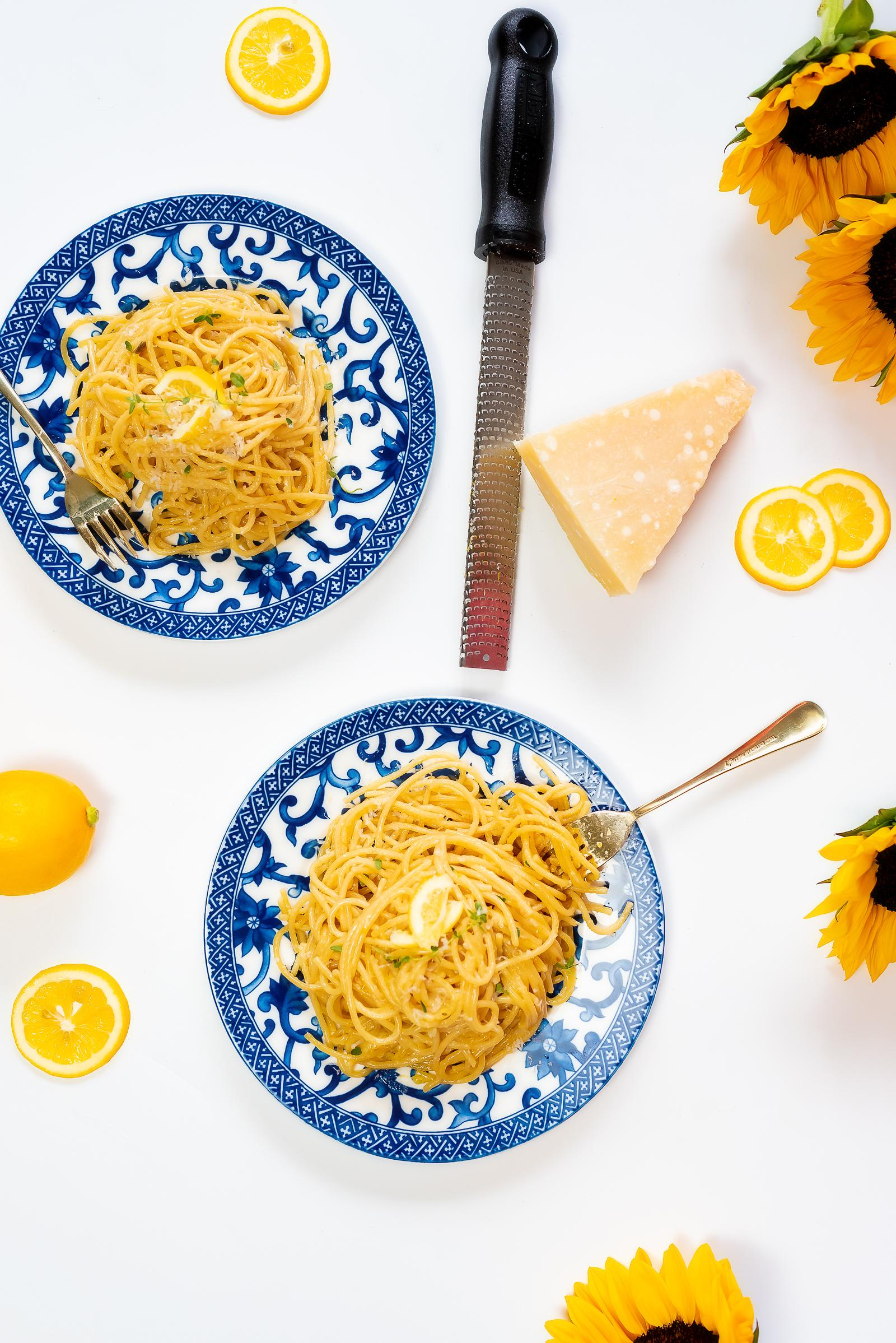 Instant Pot Lemon Parmesan Pasta Recipe