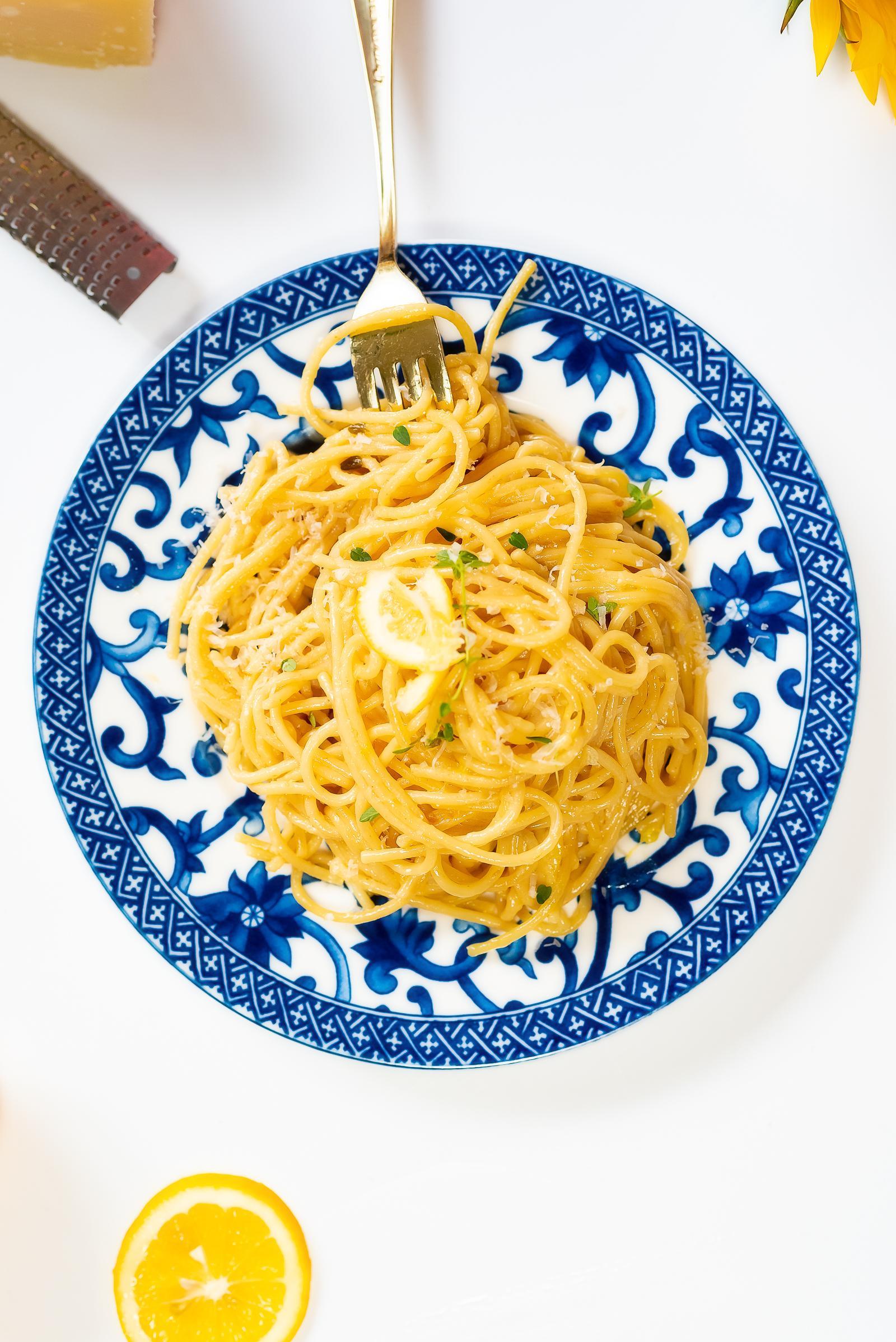 Instant Pot Lemon Parmesan Pasta Recipe
