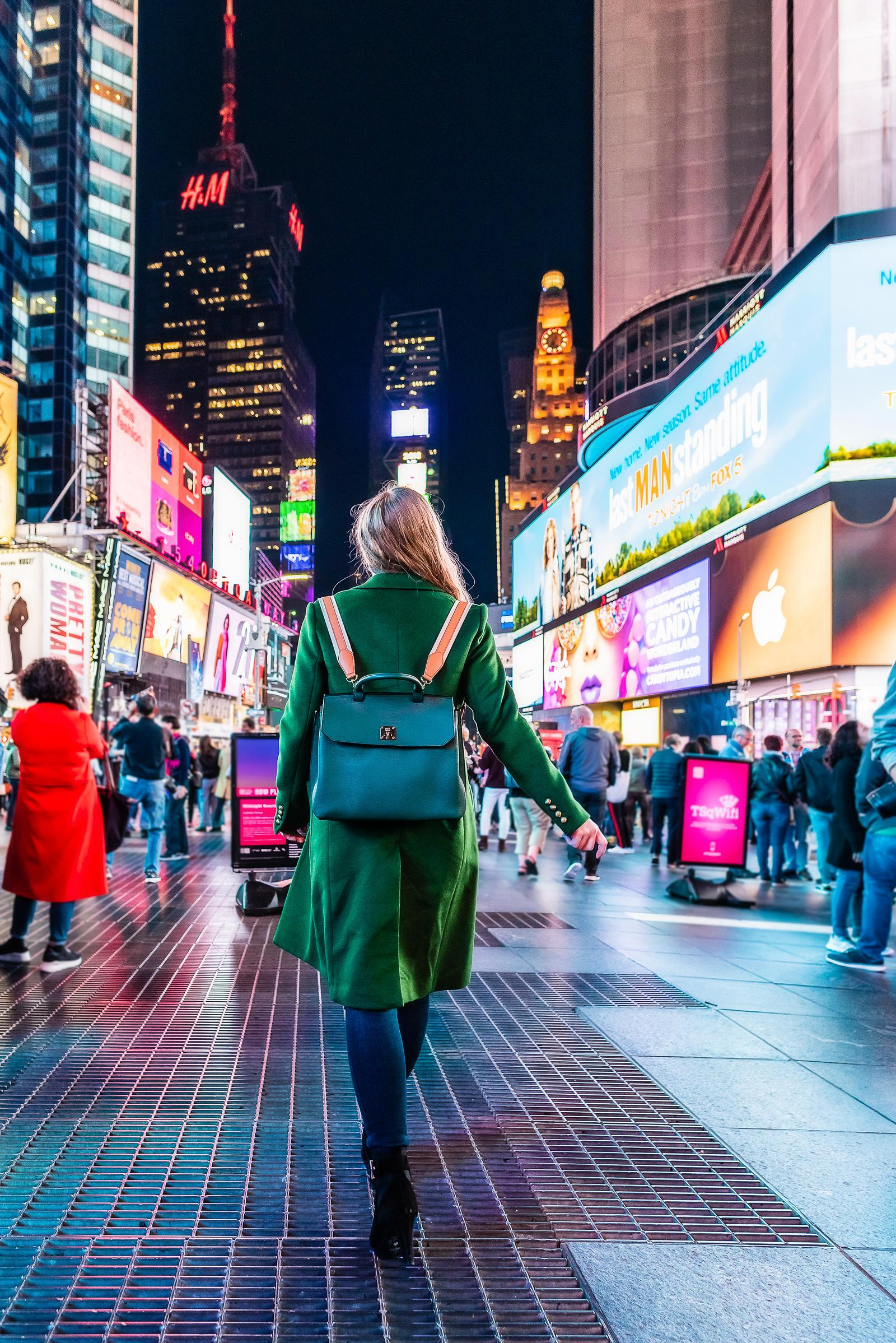 Times Square NYC Outfit