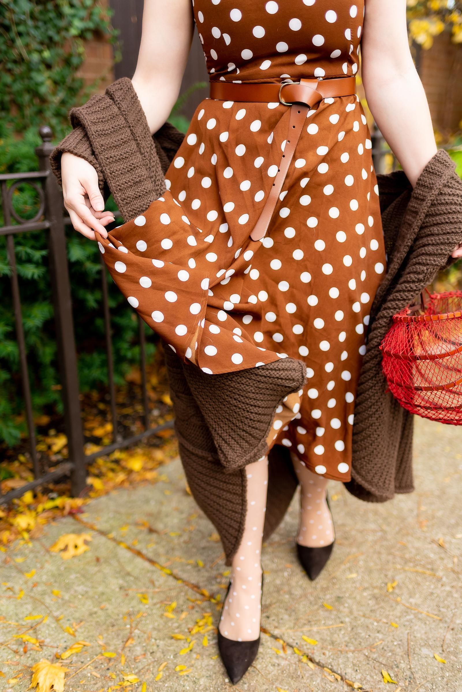 Polka Dot Thanksgiving Outfit