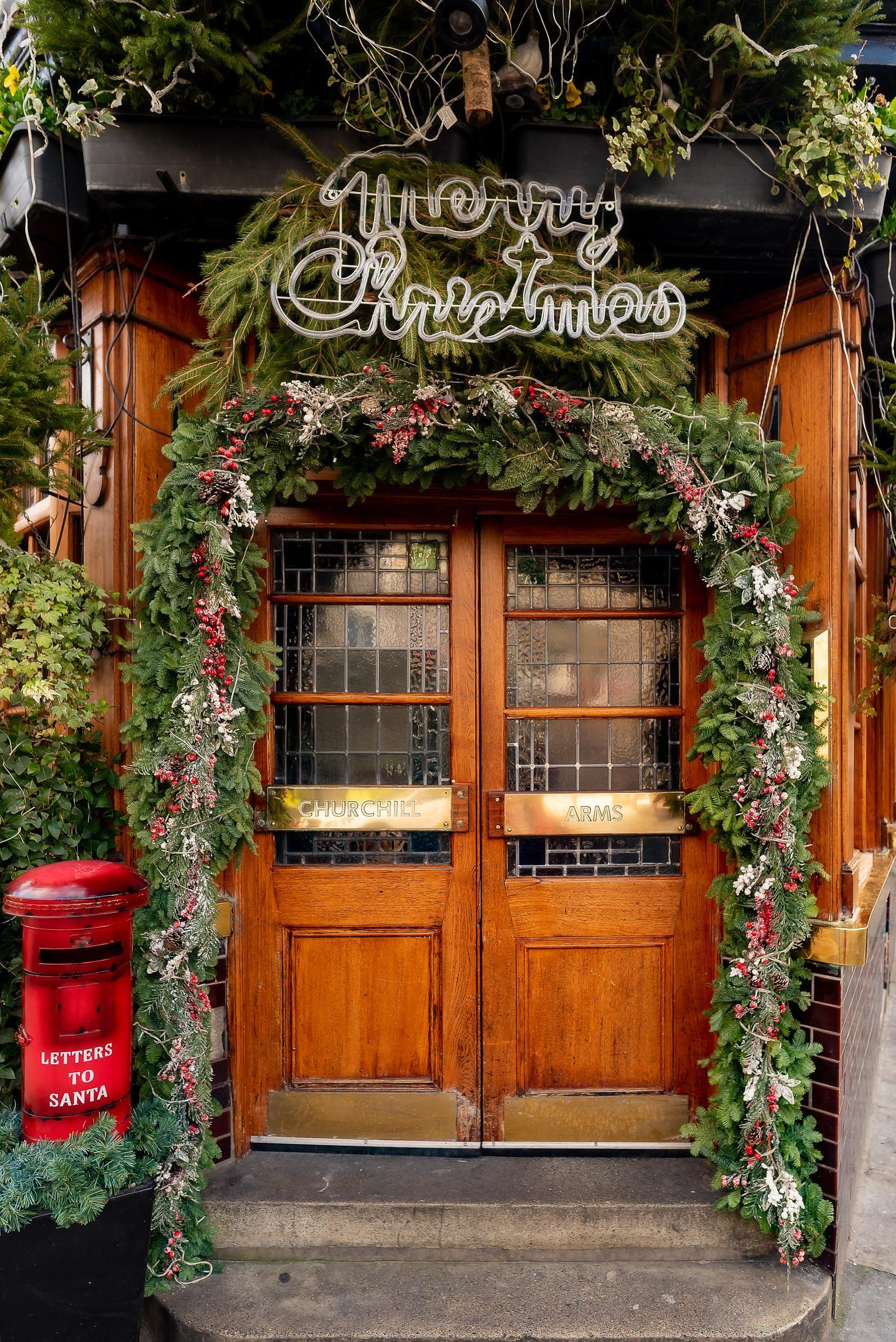 Churchill Arms London Pub