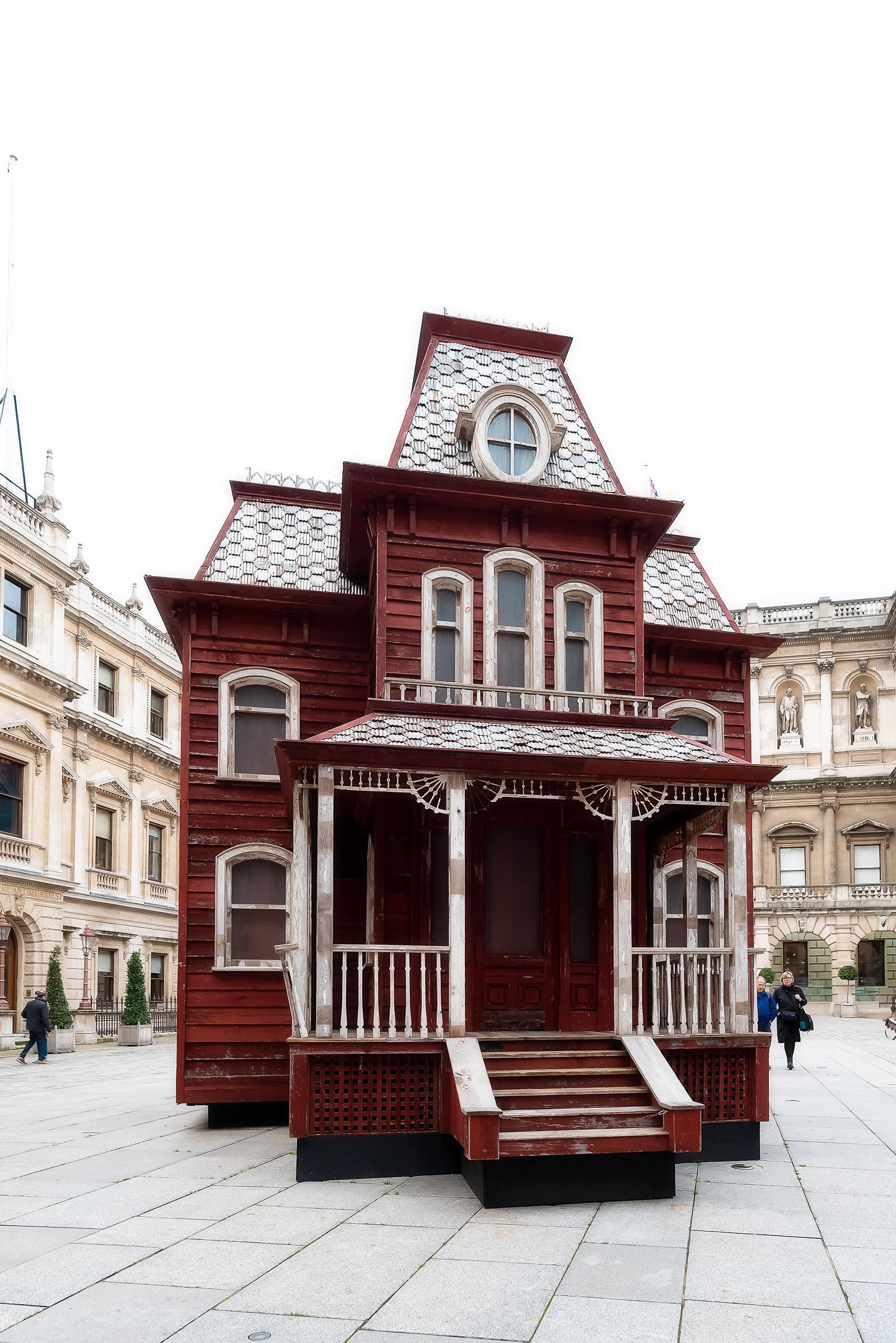 Burlington House London December 2018