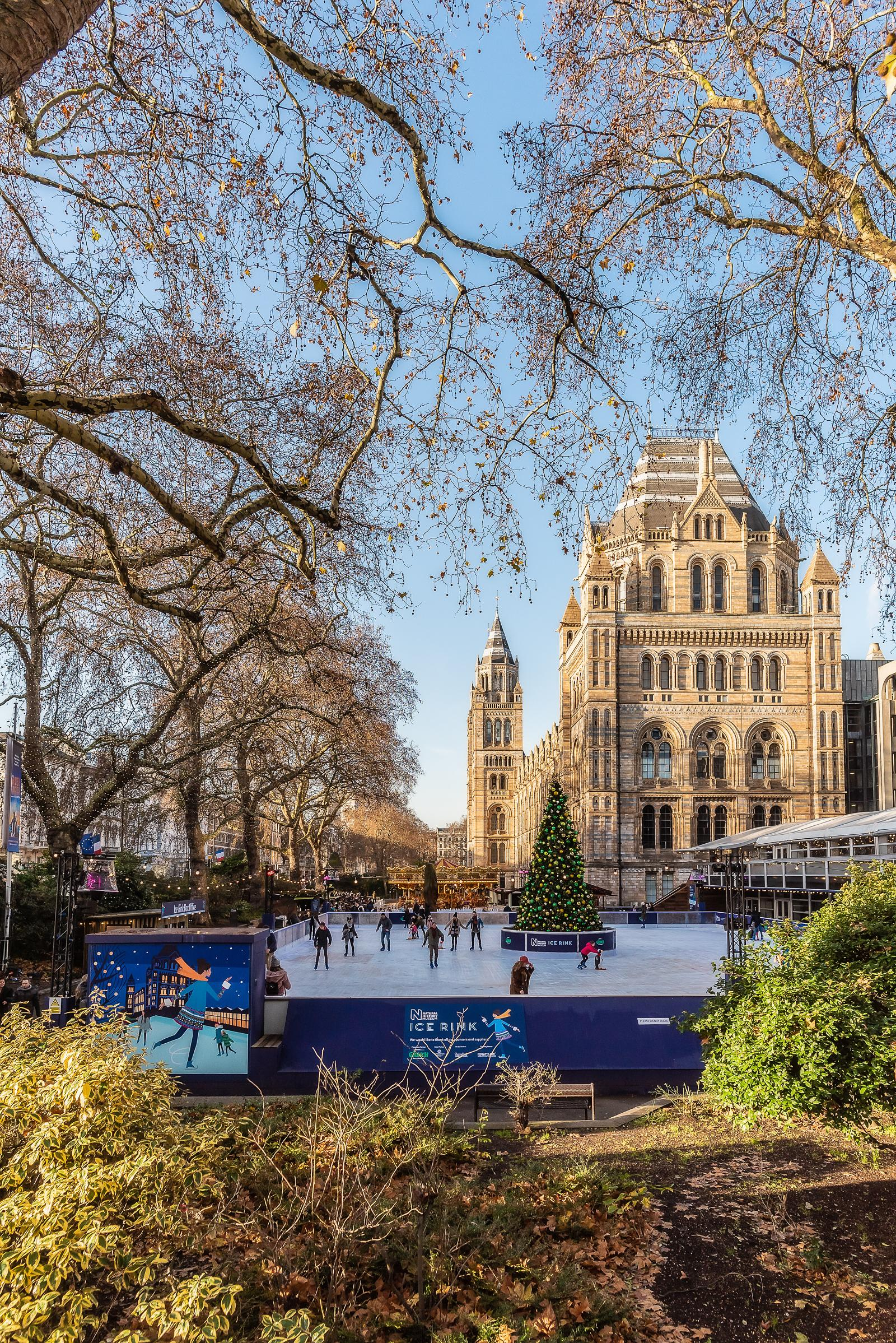 Natural History Museum Ice Rink London