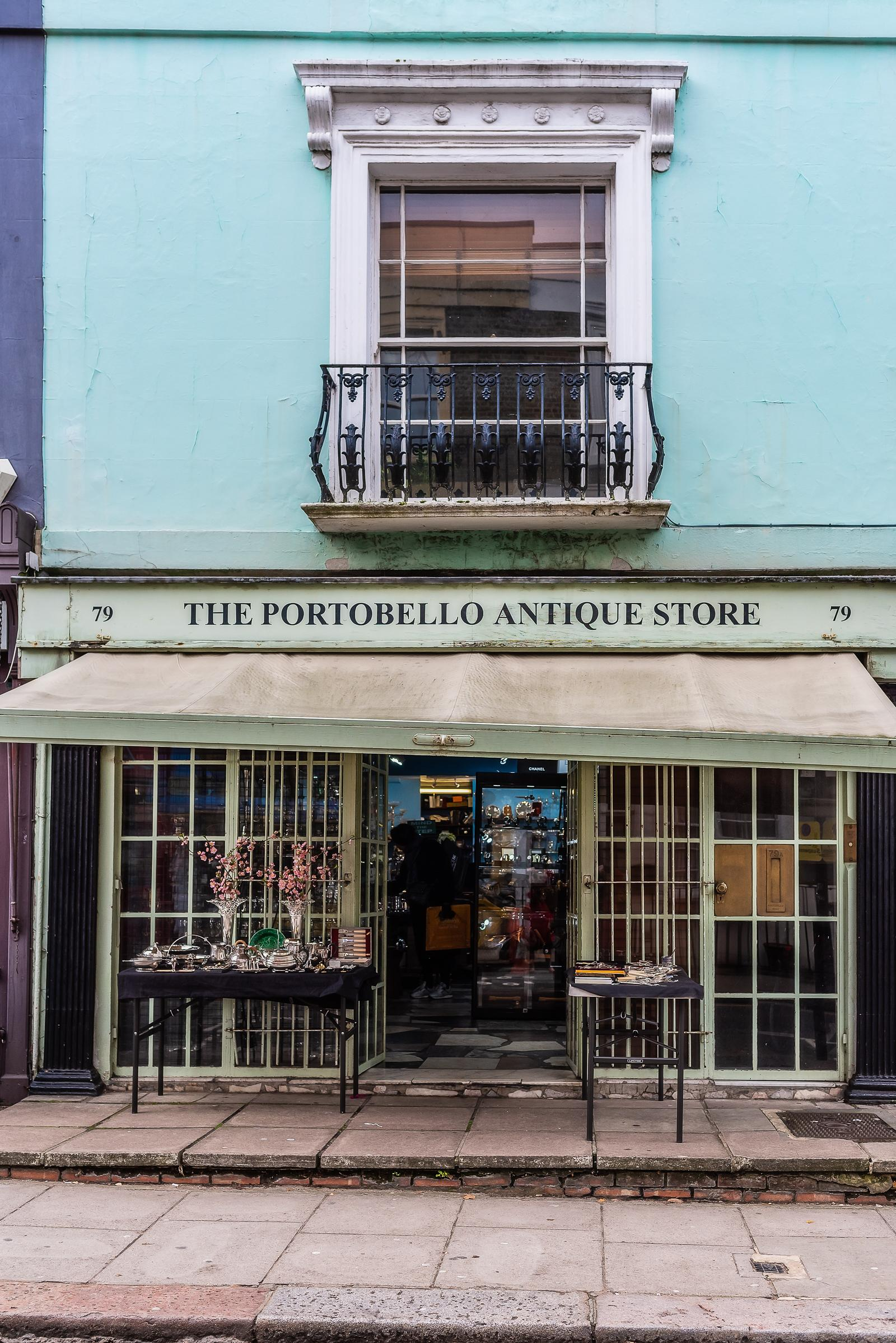 Portobello Road London December 2018