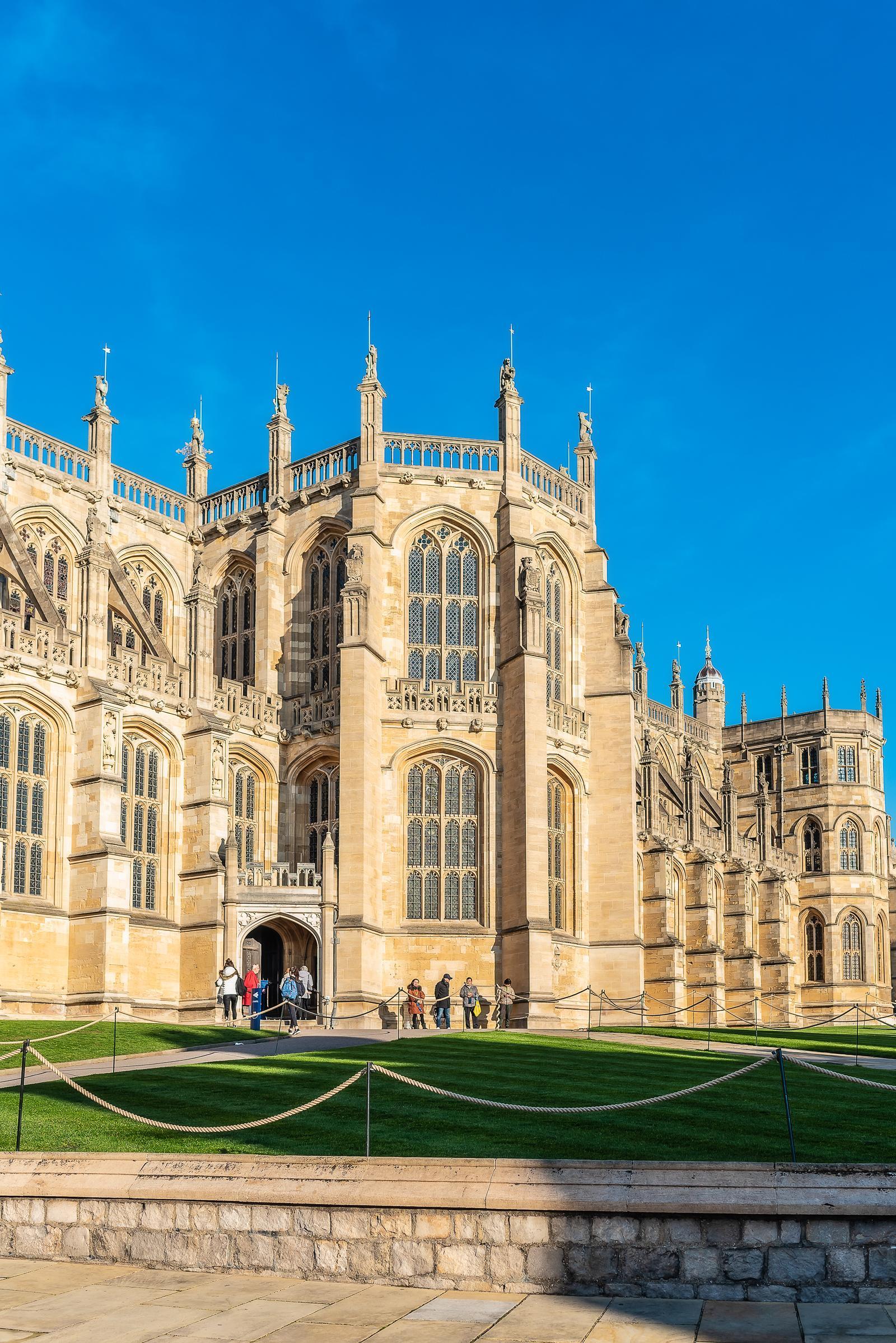 Windsor Castle England December 2018