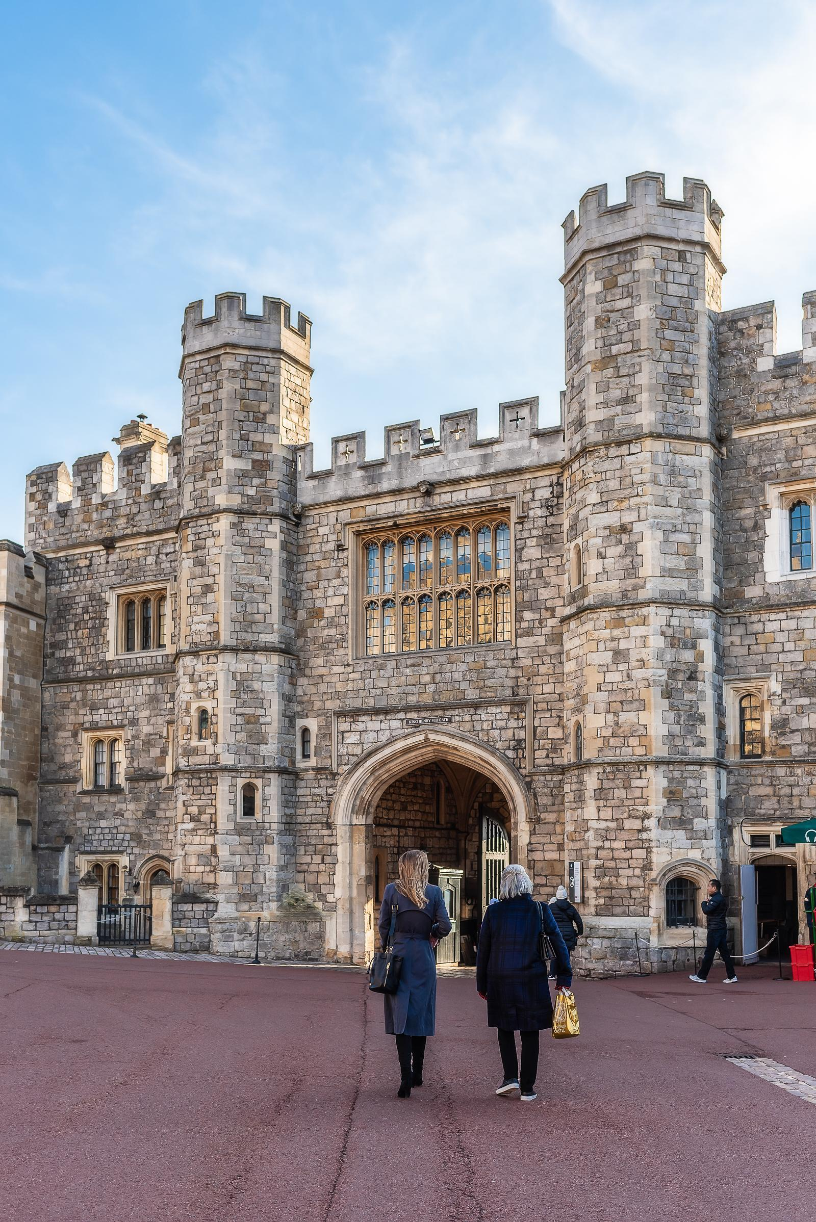 Windsor Castle England December 2018