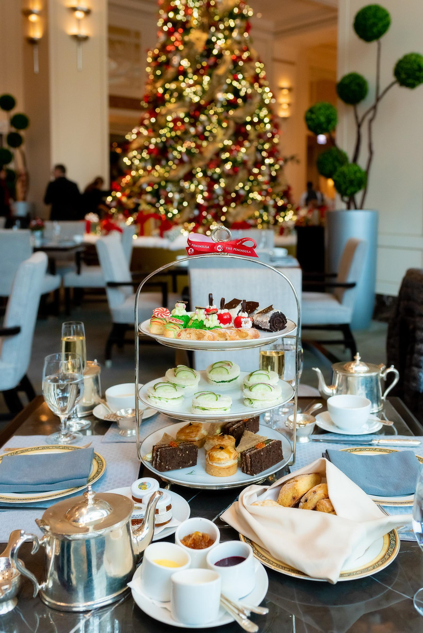 Peninsula Chicago Holiday Afternoon Tea 2018