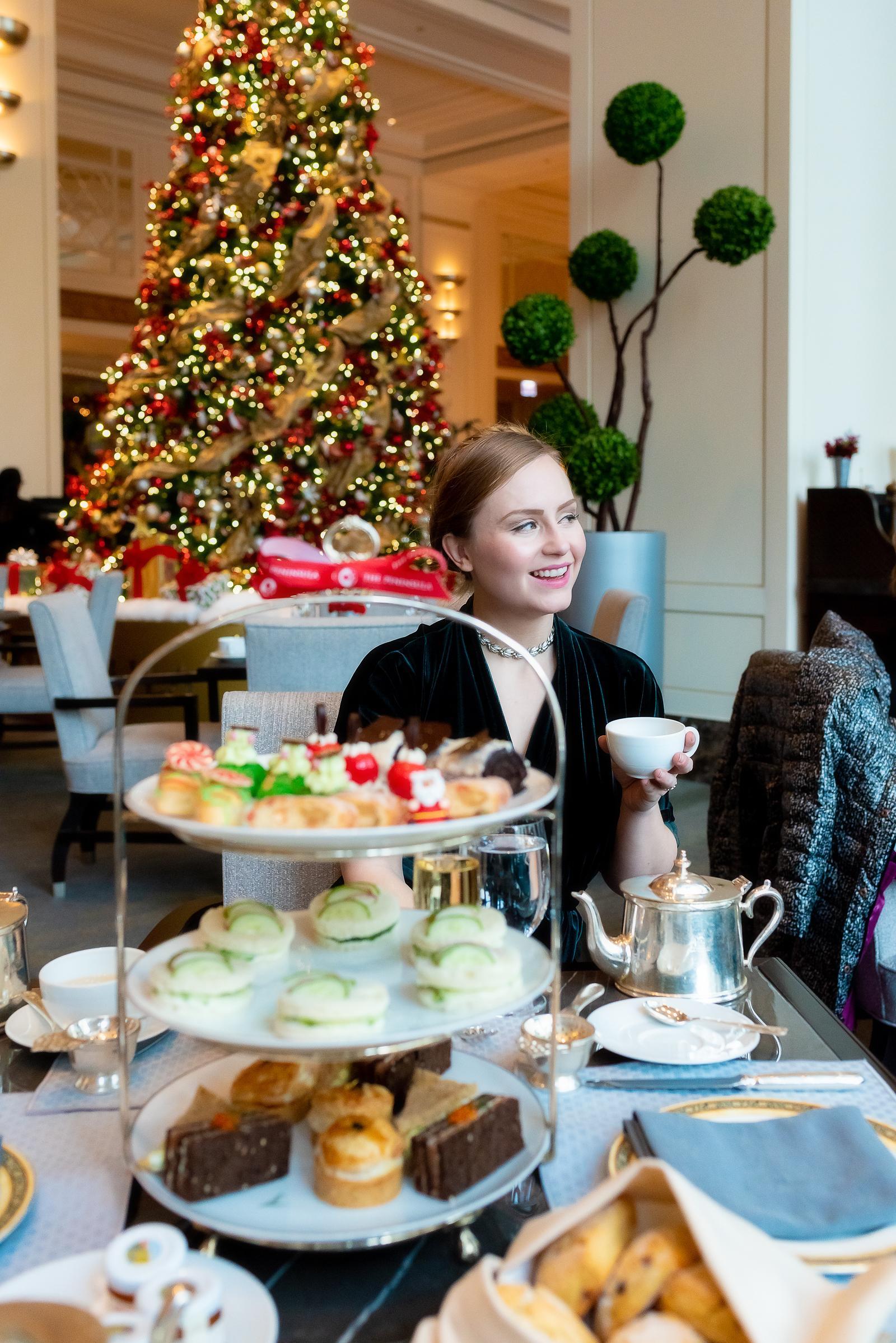 Peninsula Chicago Holiday Afternoon Tea 2018